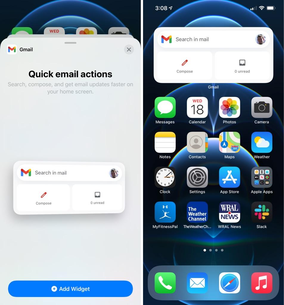 Gmail App for iOS Gains iOS 14