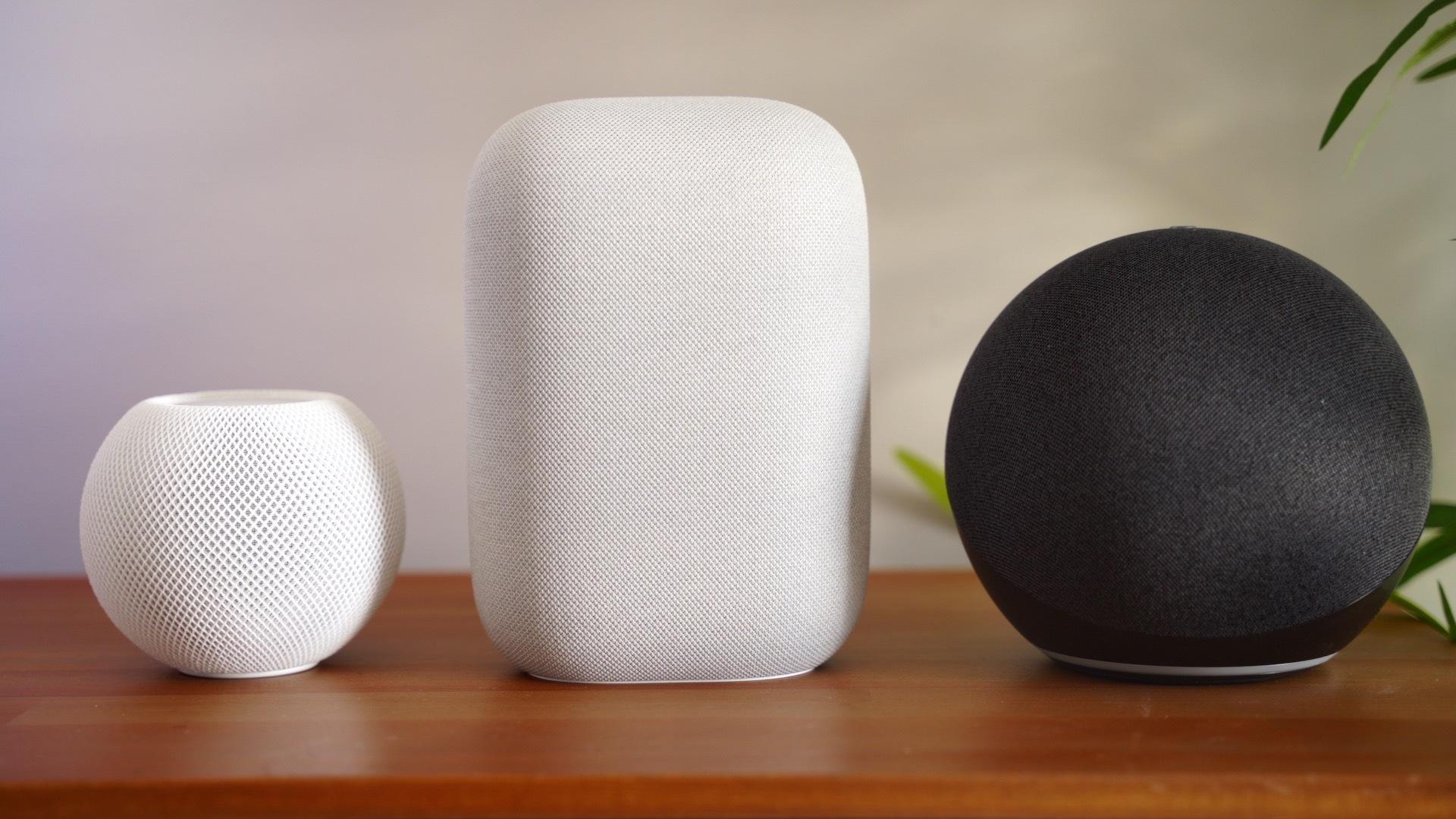 amazon echo homepod mini nest audio comparison
