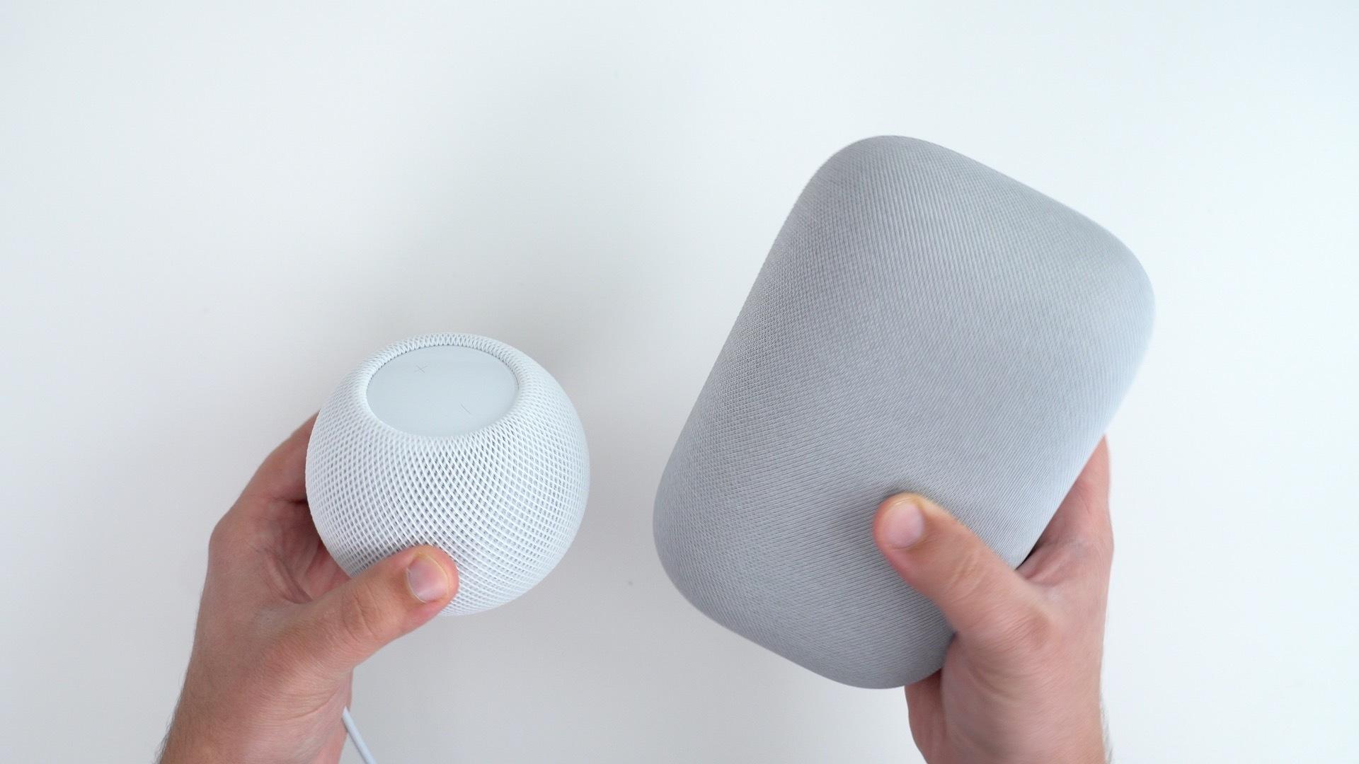 nest audio homepod mini comparison