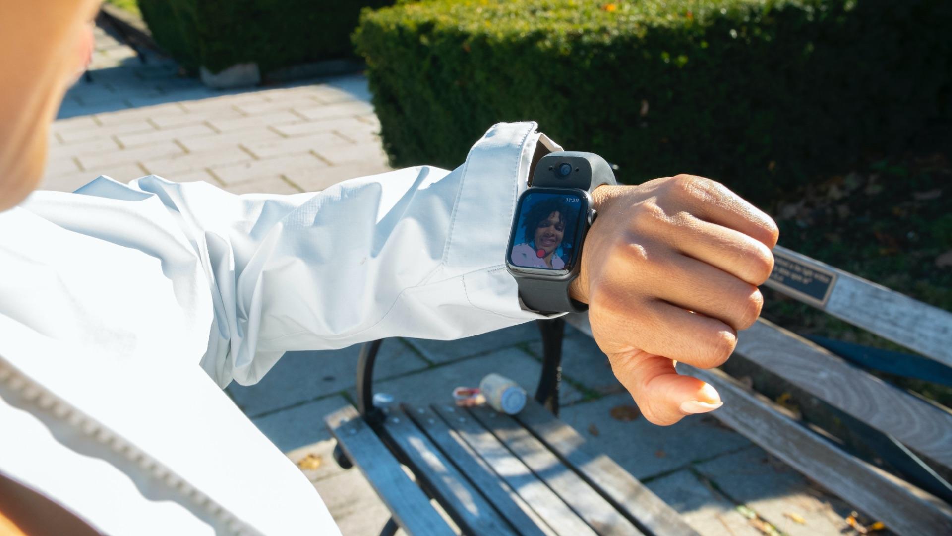 wristcam front facing camera