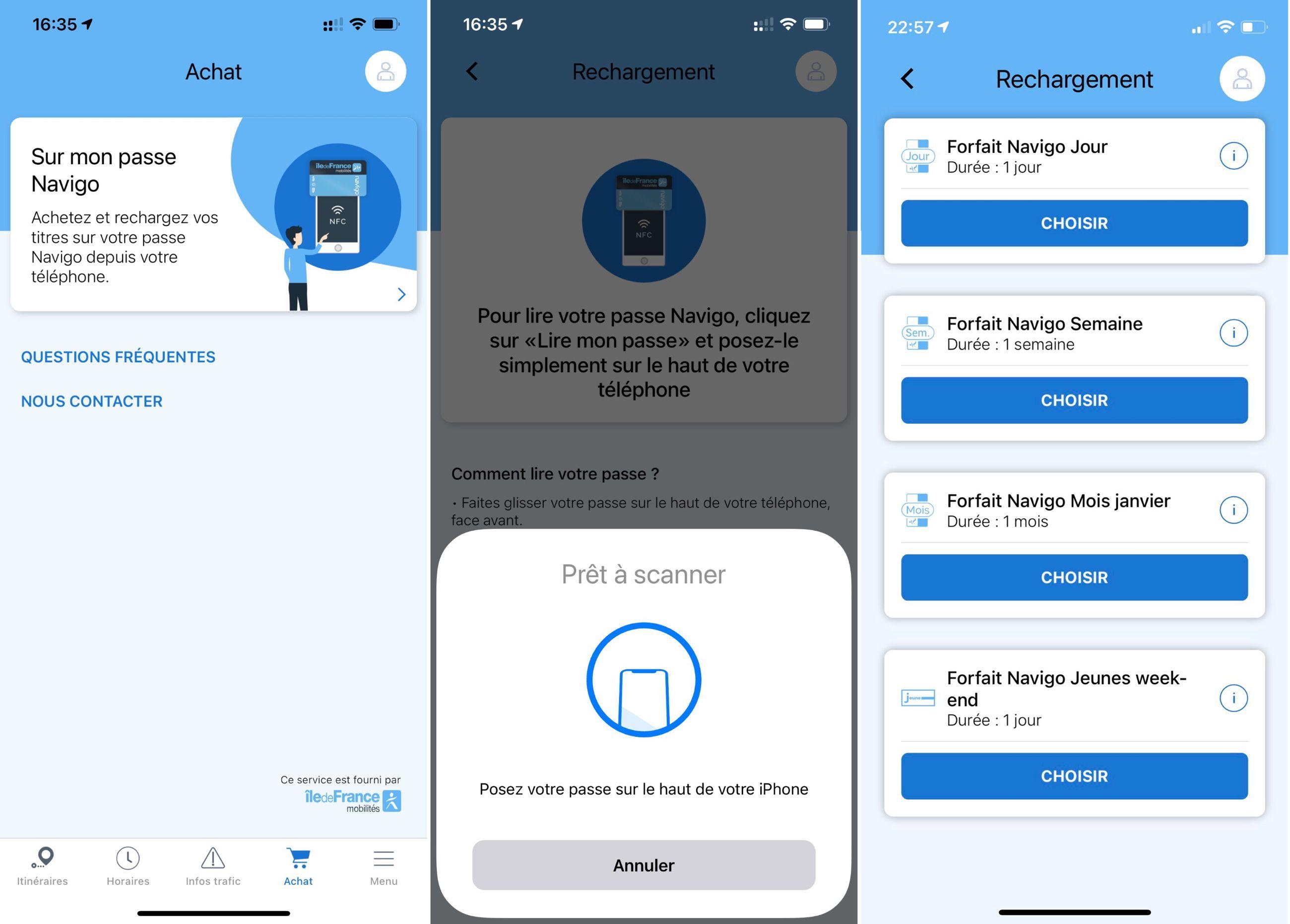 Paris Metro Navigo Cards Now Supported on iPhone
