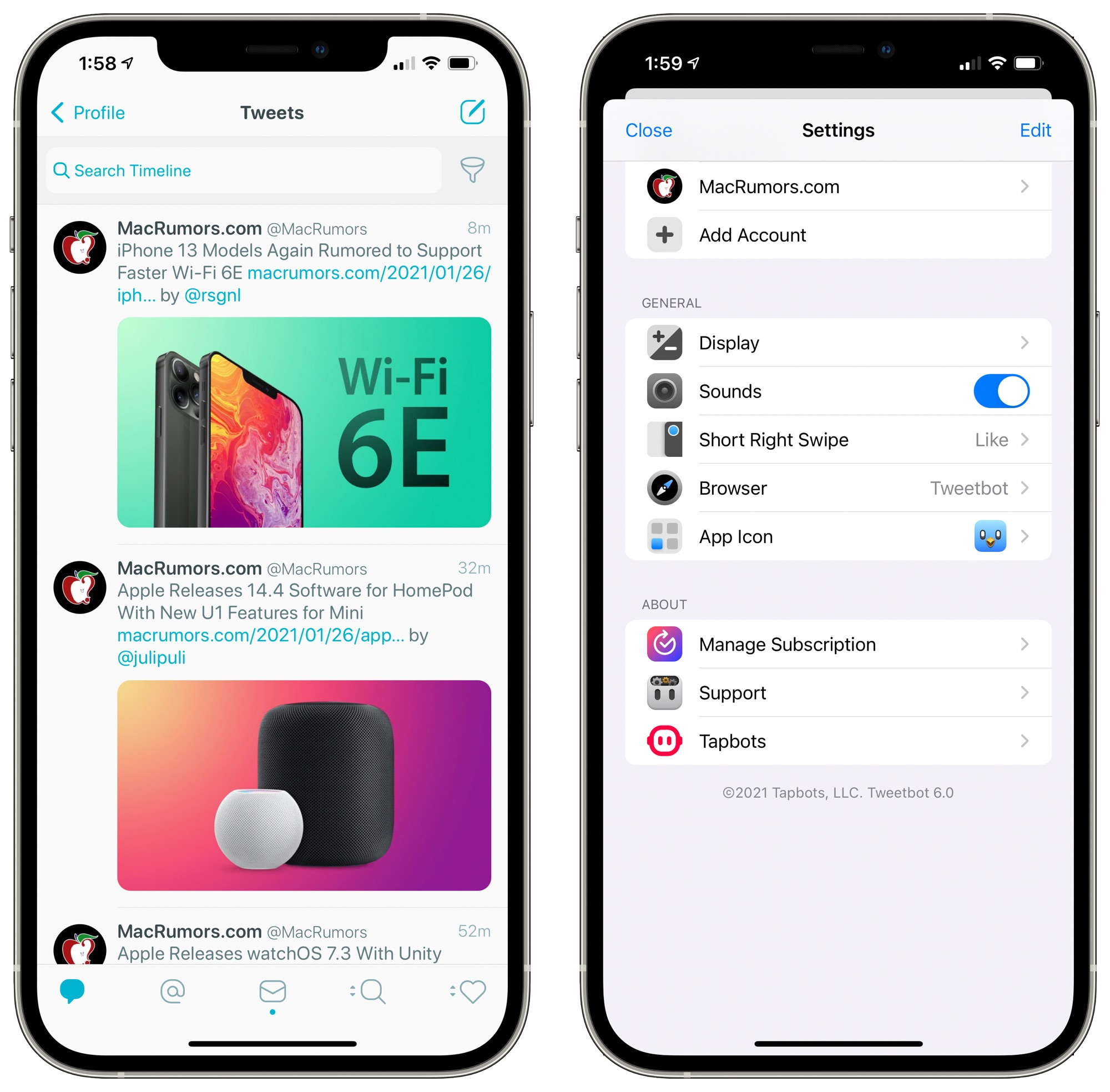 Tweetbot 6 Launches With Design Updates and Subscription Pricing
