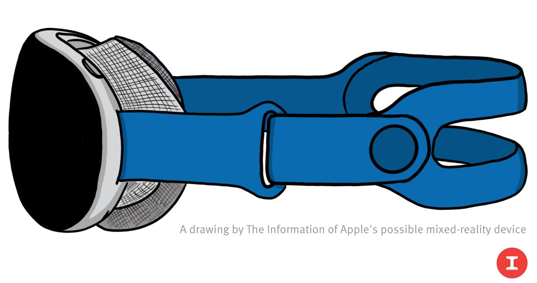 apple mixed reality headset mockup