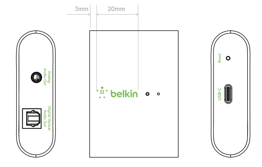 photo of Belkin Designing 'Soundform Connect' Adapter to Add AirPlay 2 to Speakers image
