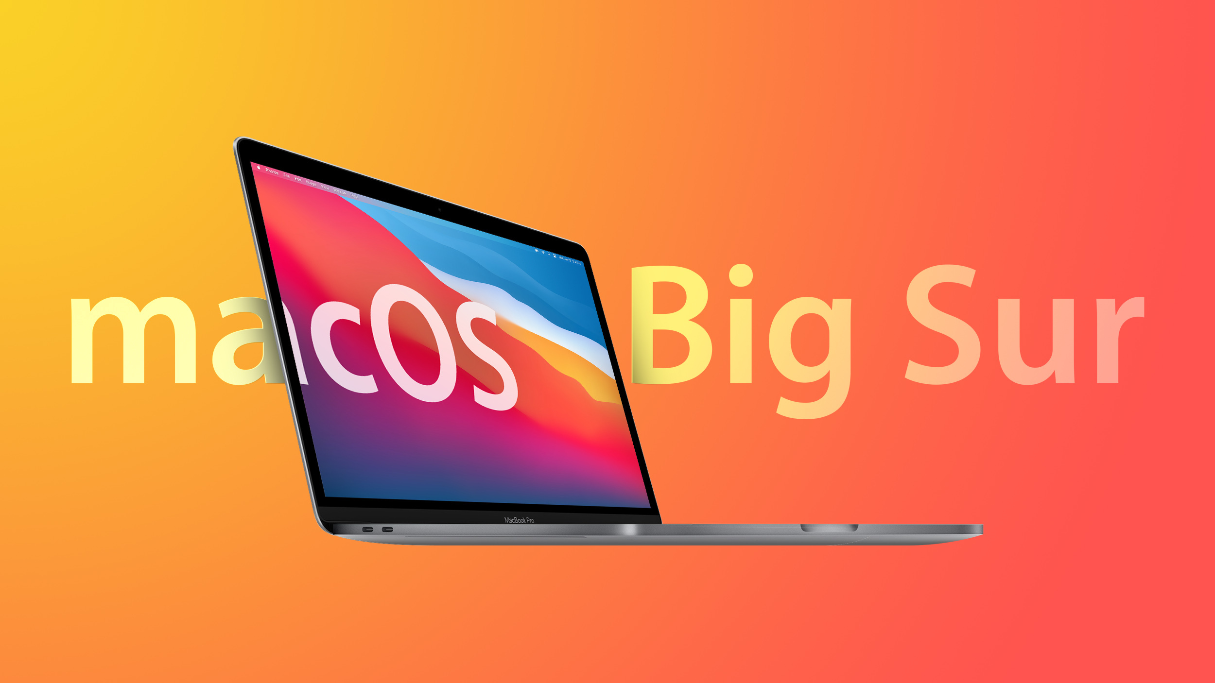 macOS Big Sur Feature Orange