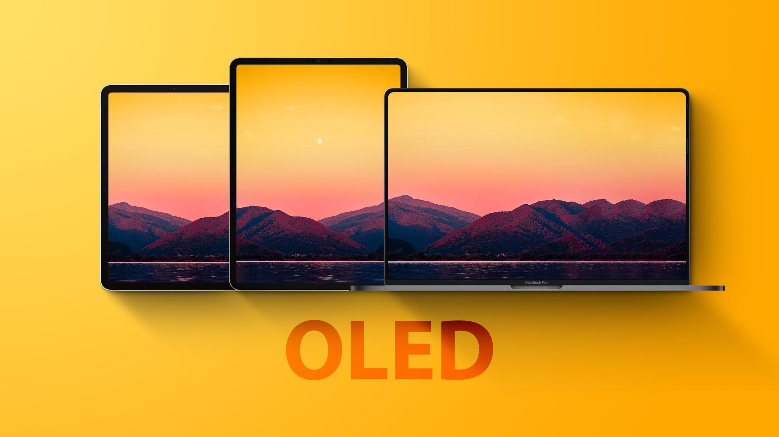 Oled iPads and MackBook Pro