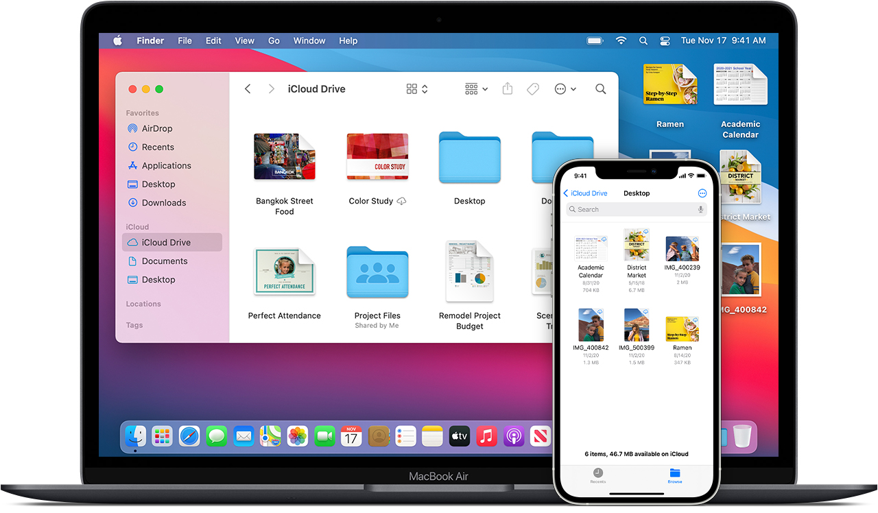 Mac-iphone-icloud