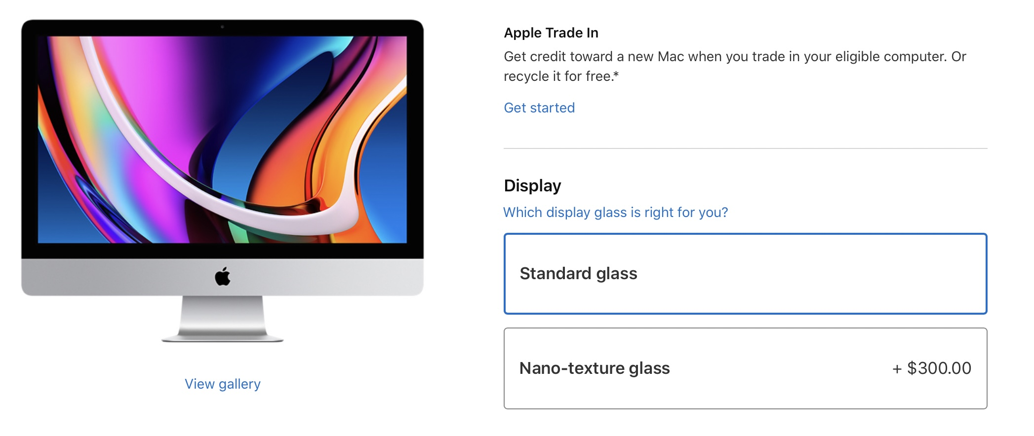 photo of Apple Cuts Price of Nano-Texture Glass Option for 27-inch iMac to $300, Down From $500 image