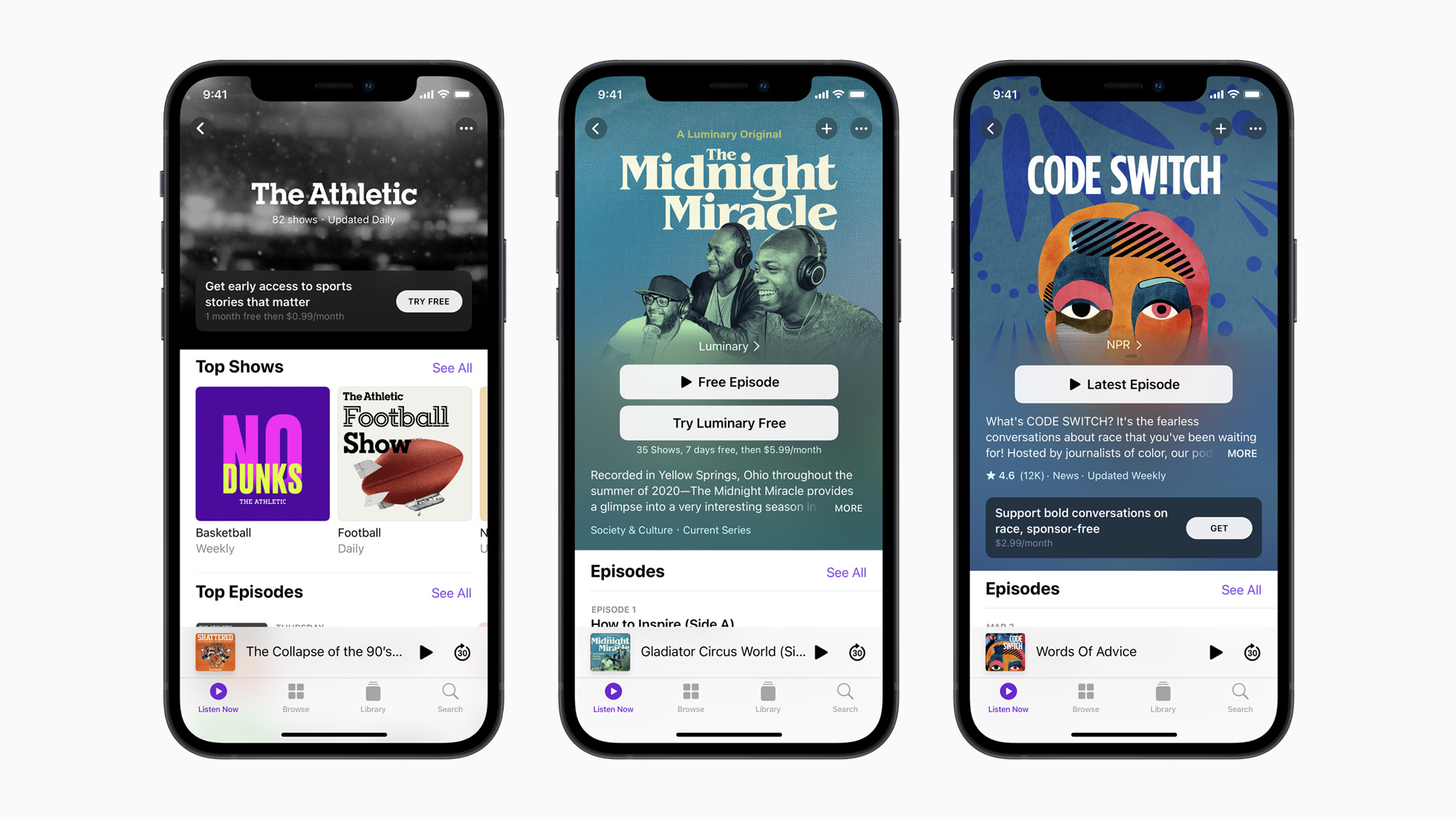 photo of Apple Will Keep 15 to 30% Cut of Podcast Subscriptions image