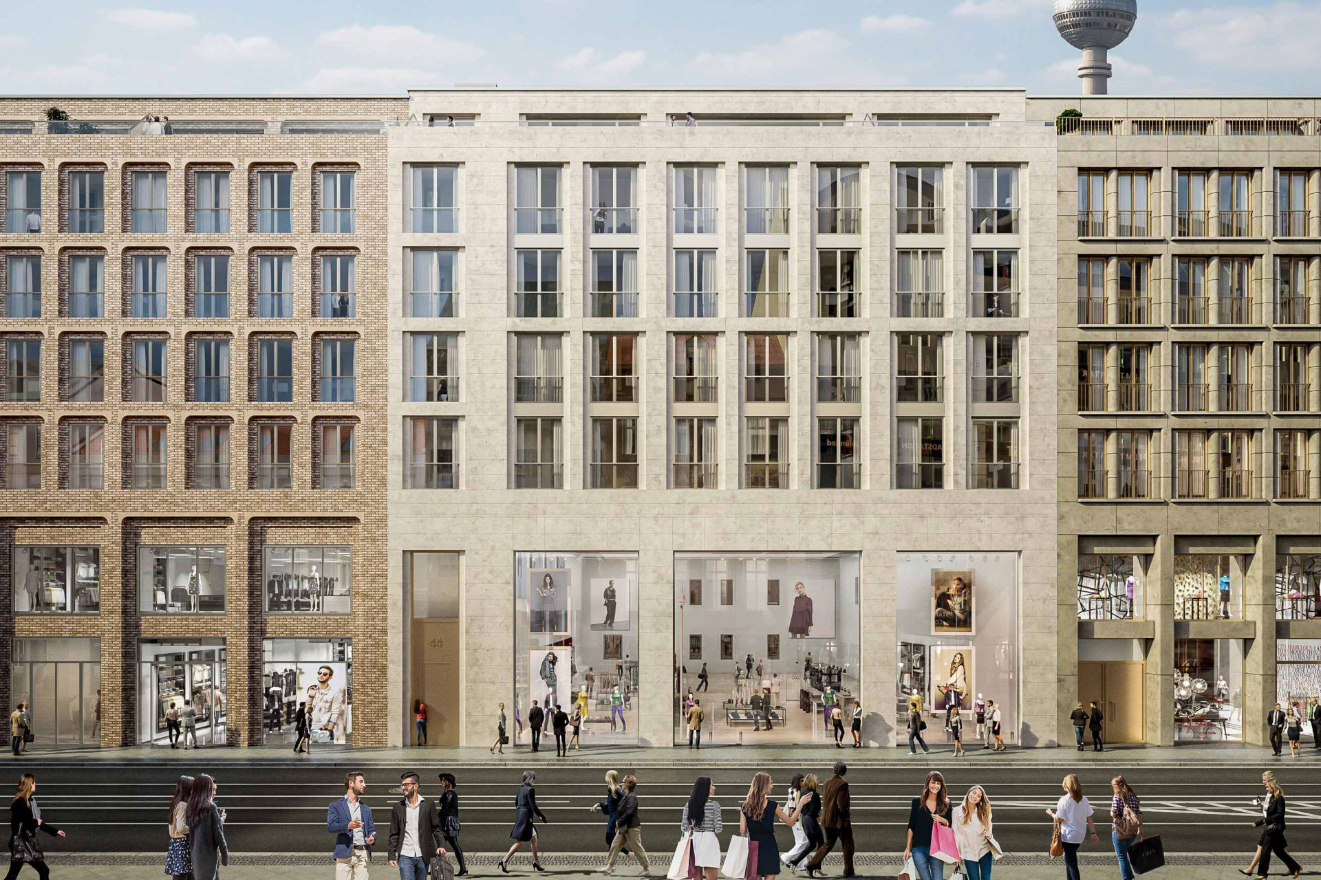 photo of Work Continues on Apple's Second Berlin Store in Eastern Part of German Capital image