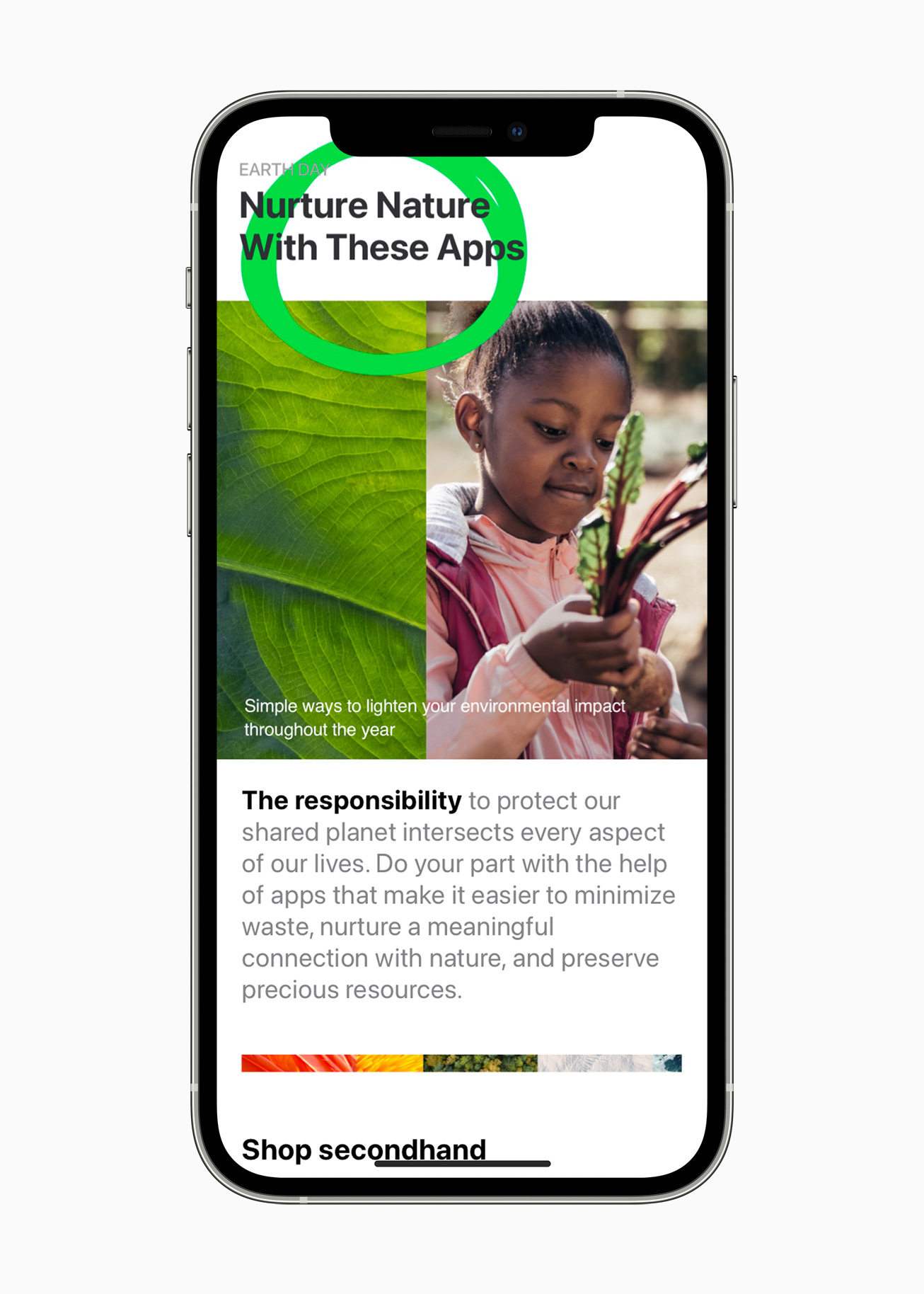 earth day 2021 app store