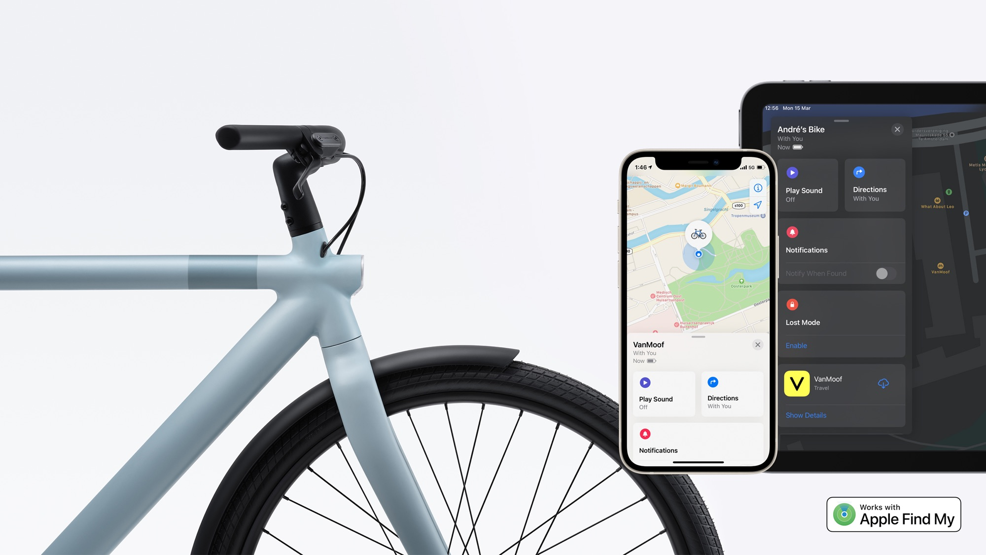 photo of VanMoof E-Bikes Gain Find My Integration as Belkin Prepares to Launch Find My SOUNDFORM Earbuds image
