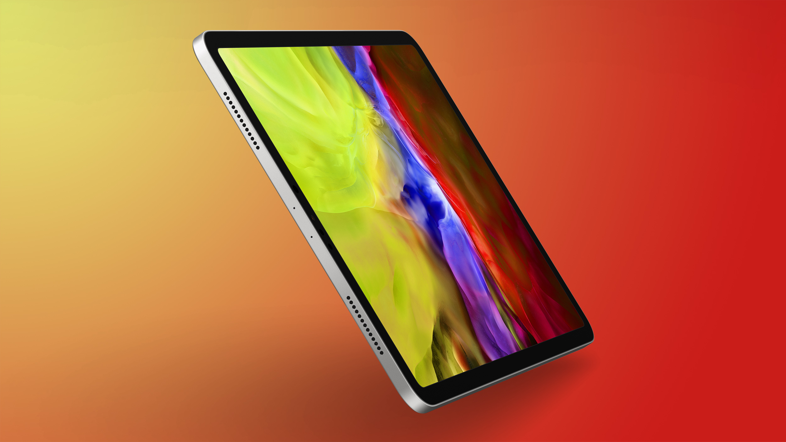 iPad Pro Feature Orange