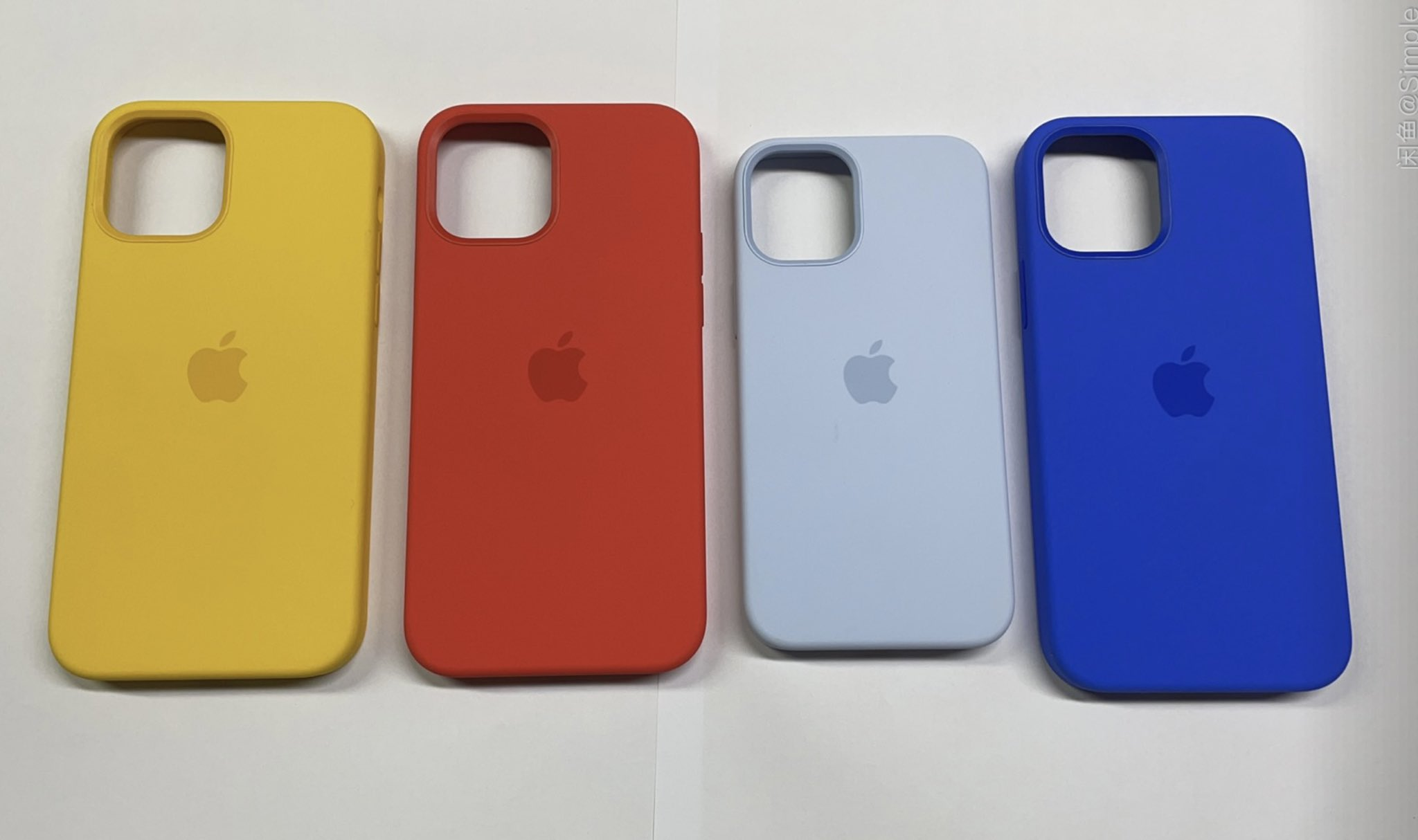 iphone 12 cases spring colors leak 2