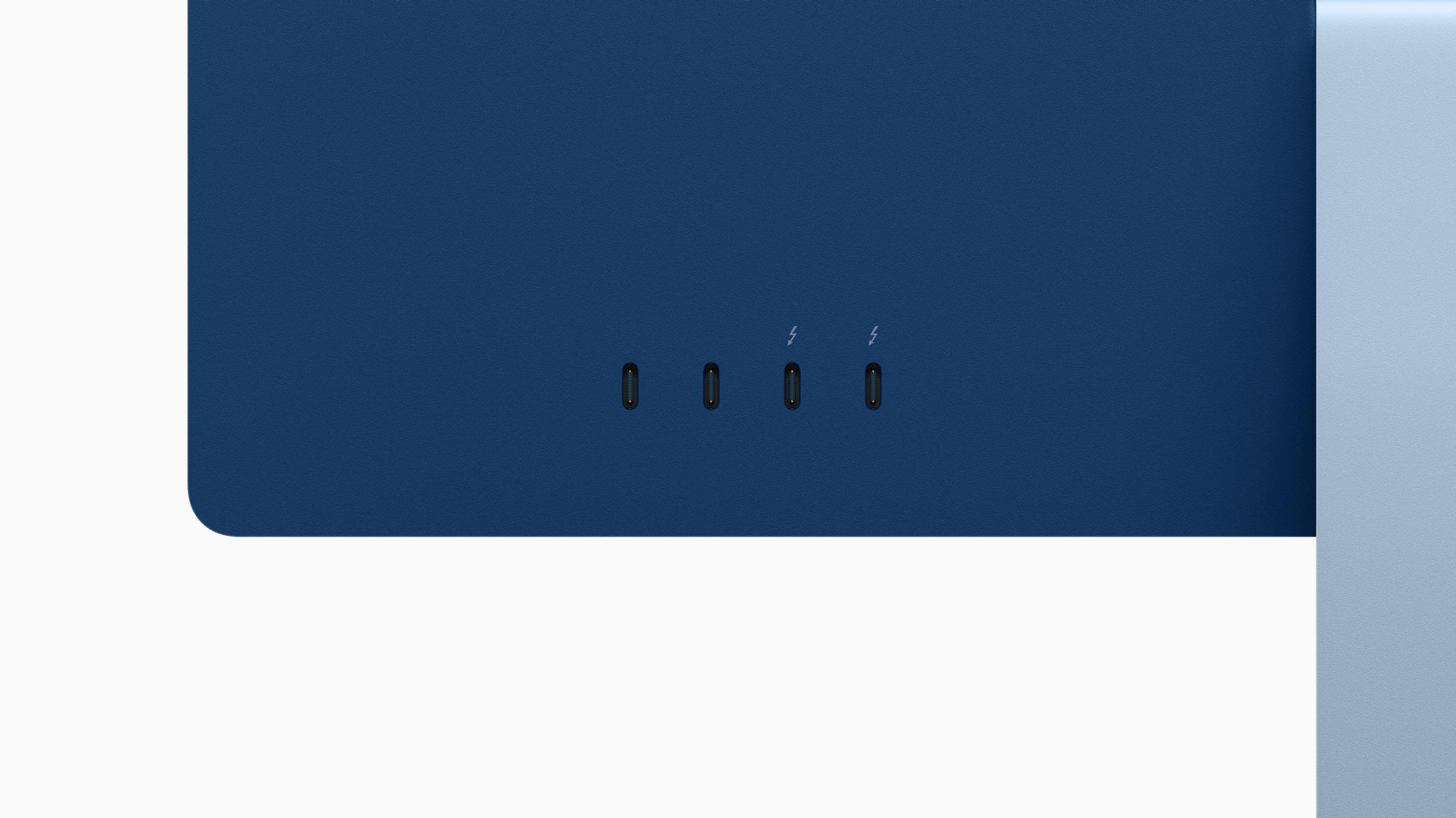 m1 imac ports