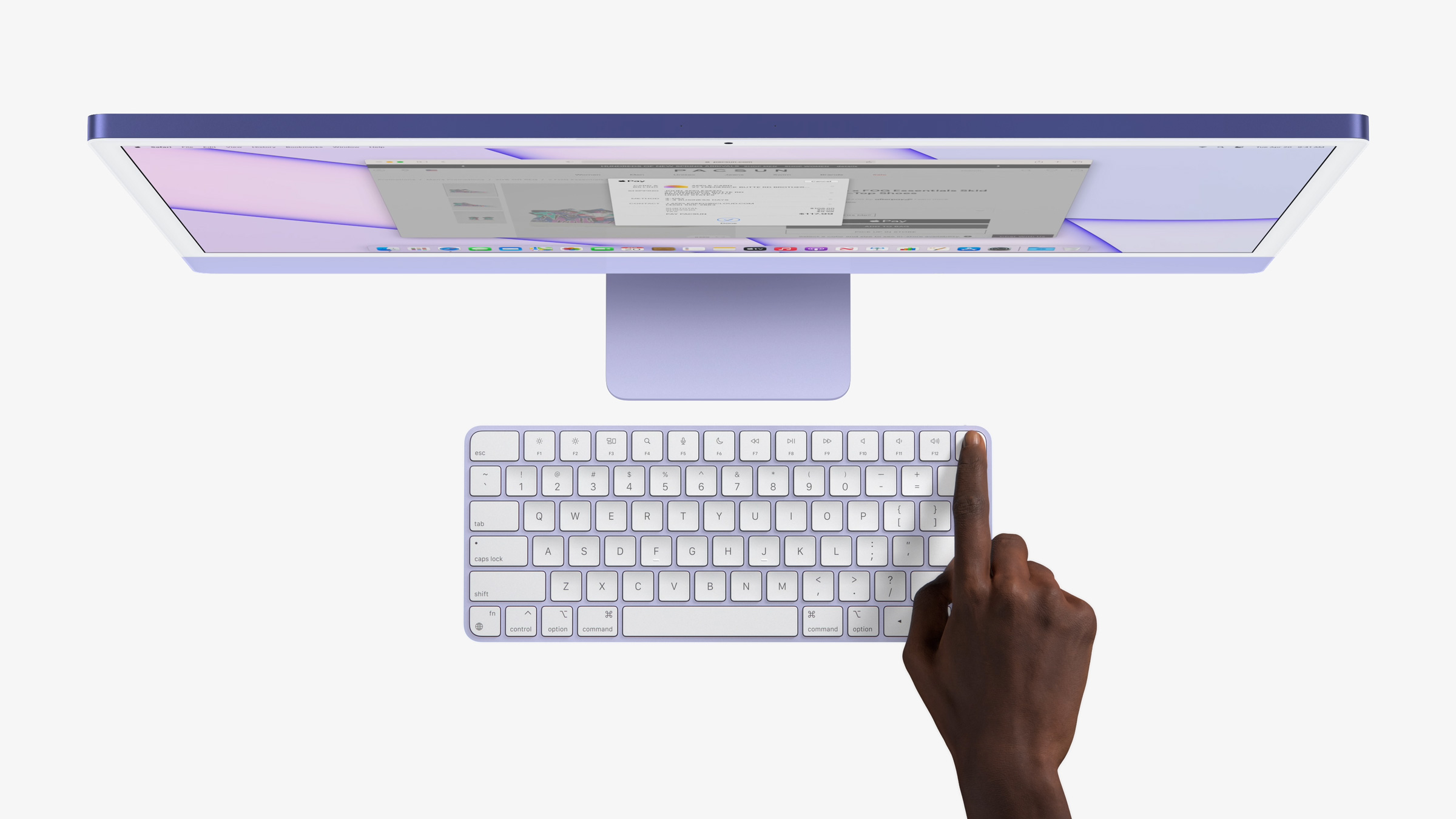 m1 imac touch id