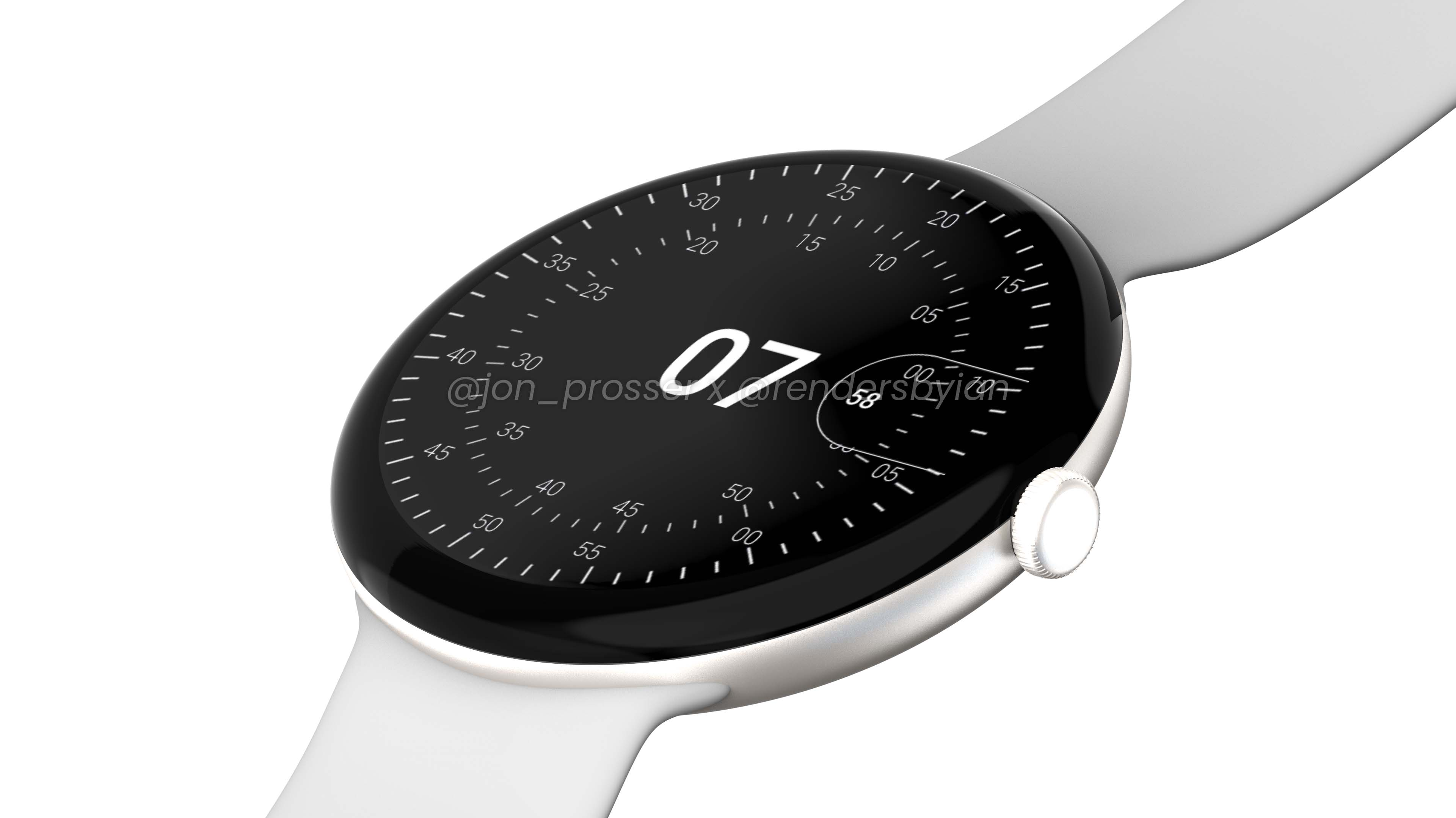 pixel watch design prosser leak