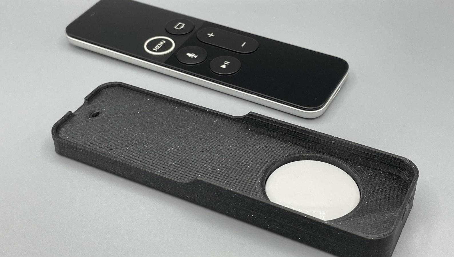 3d printed airtag case siri remote