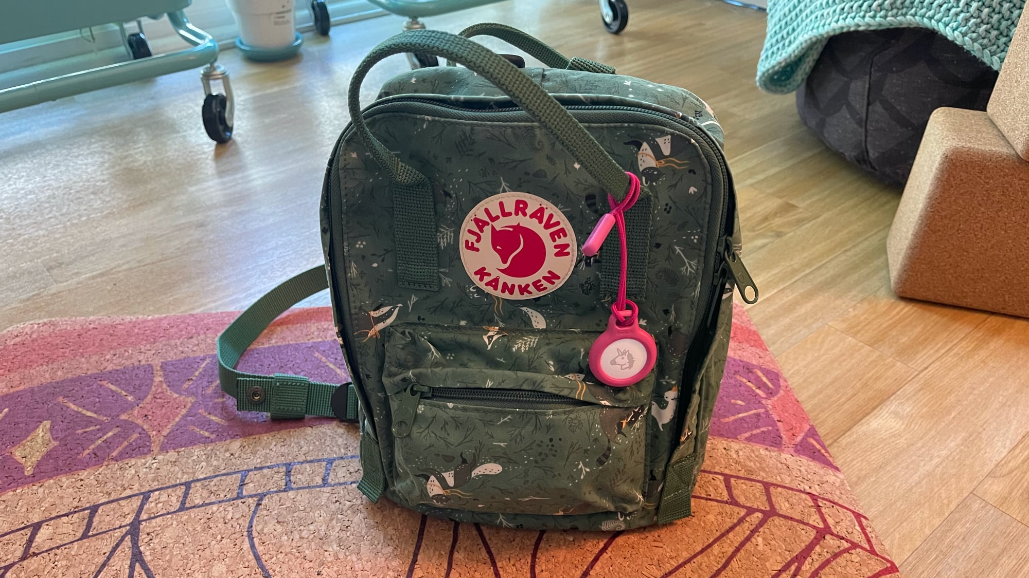 airtag holder backpack
