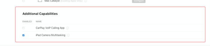 zoom dev forum ipad api