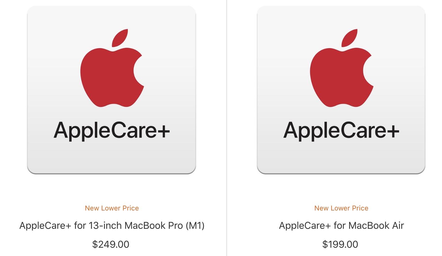 applecare lower prices