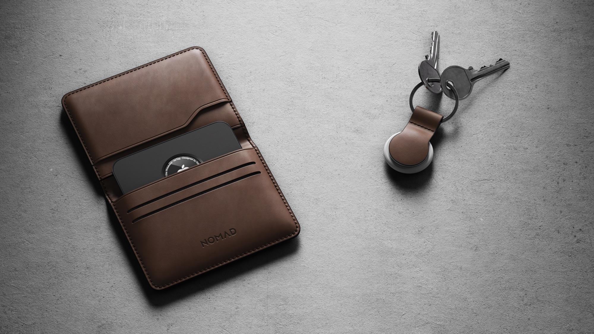 nomad airtag wallet card