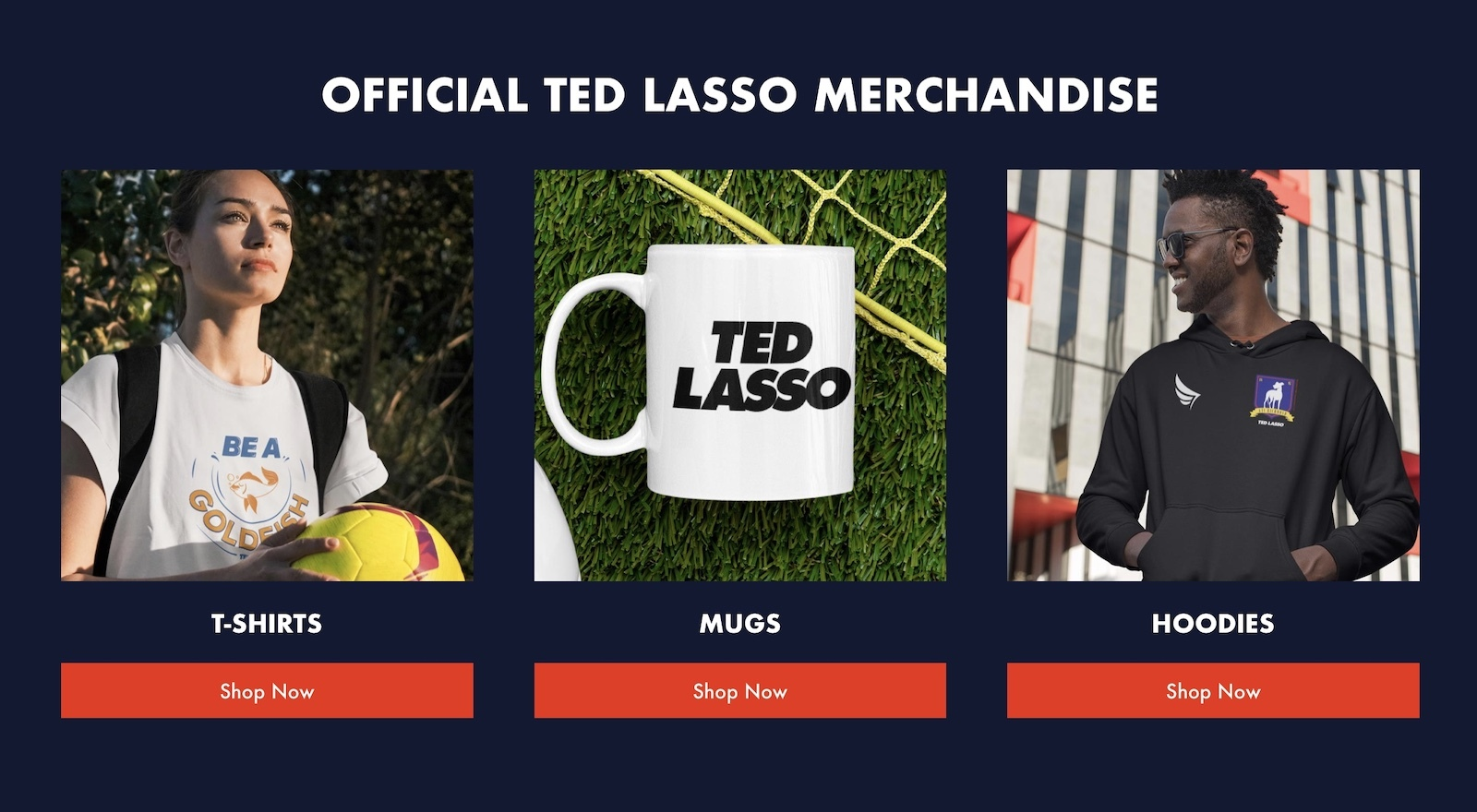 photo of Official Ted Lasso Merch Now Available, Starting With $60 'Richmond' Jersey image