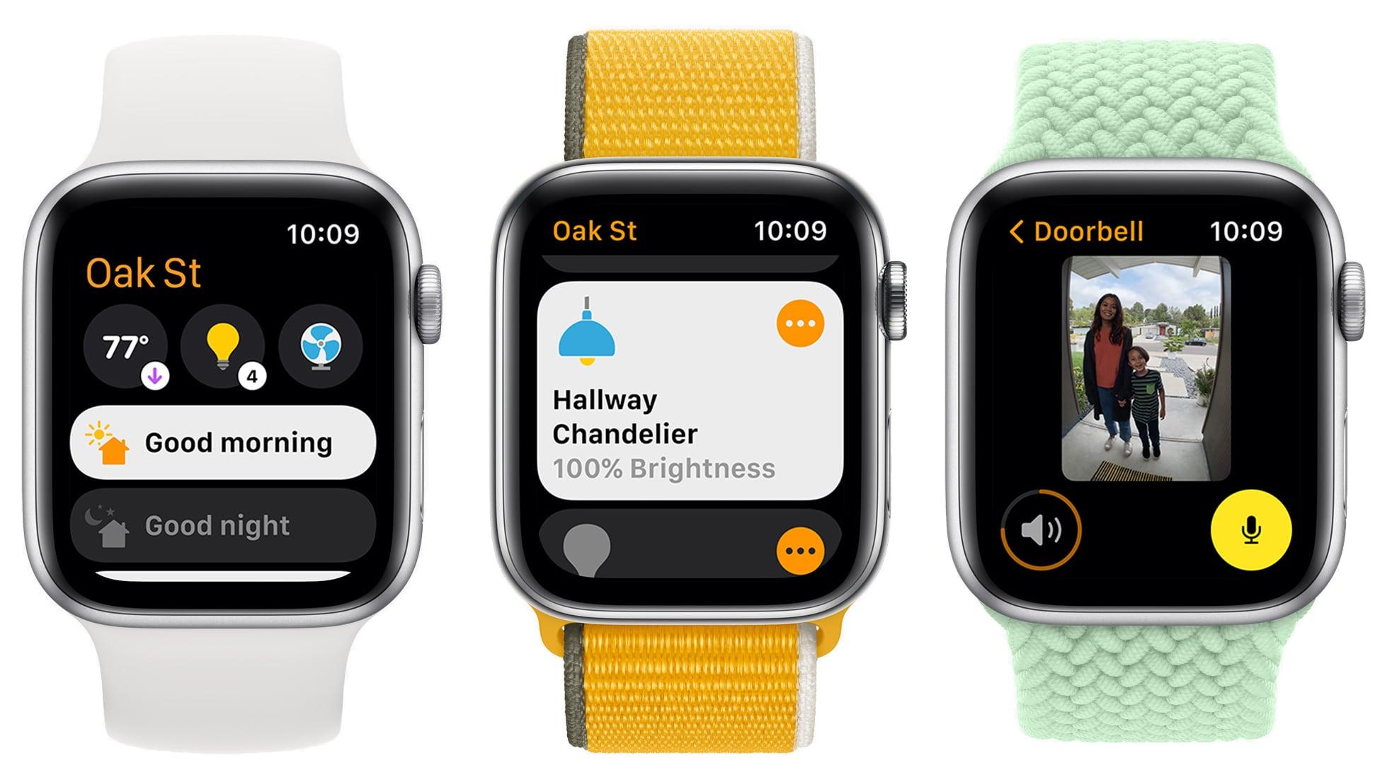 watchos 8 home app redesign