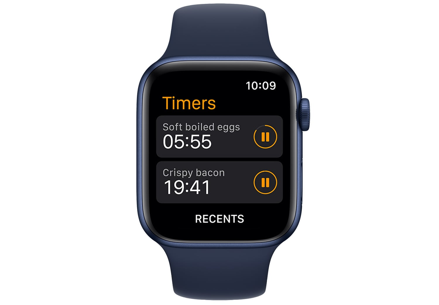 watchos 8 multiple timers