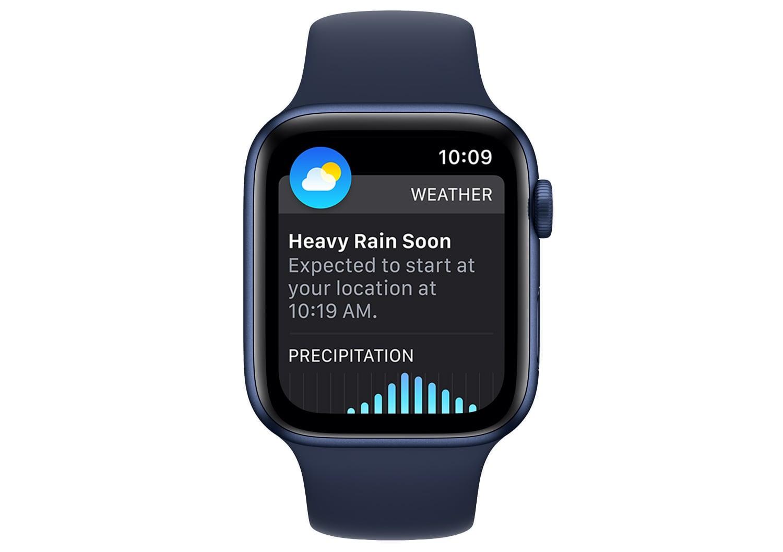 watchos 8 weather app