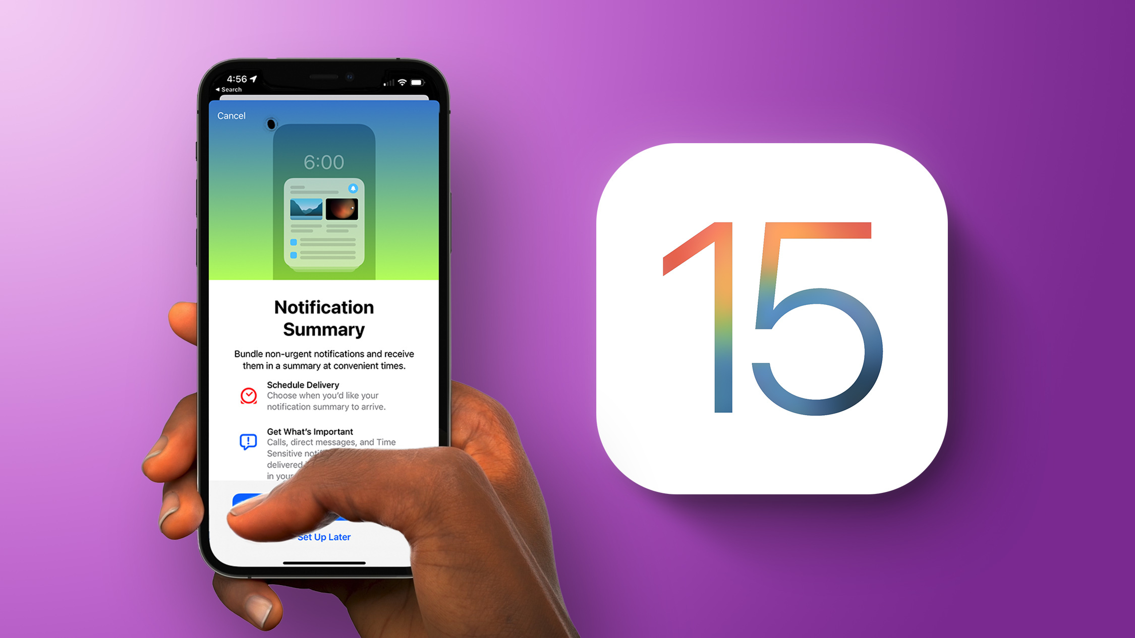 photo of iOS 15: What's New With Notifications image