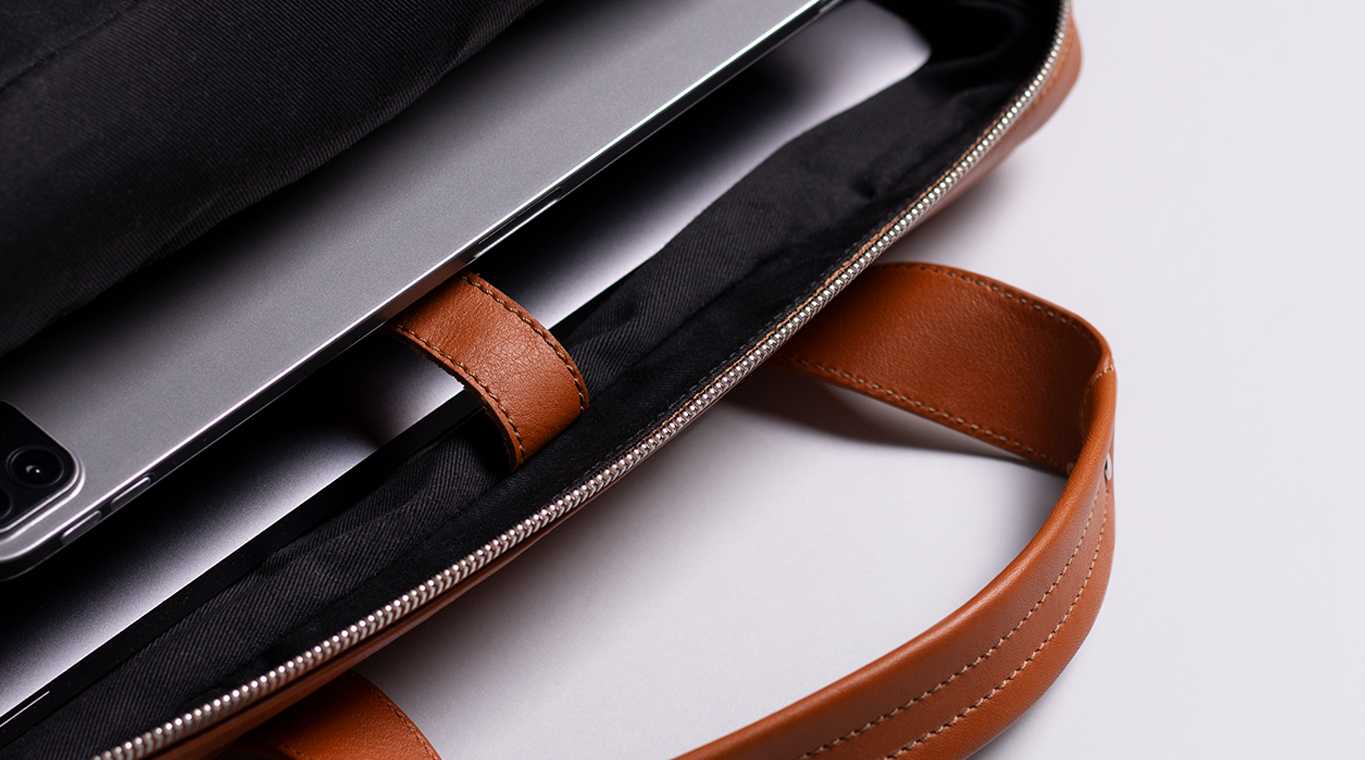 Harber London Everyday Leather Briefcase 1