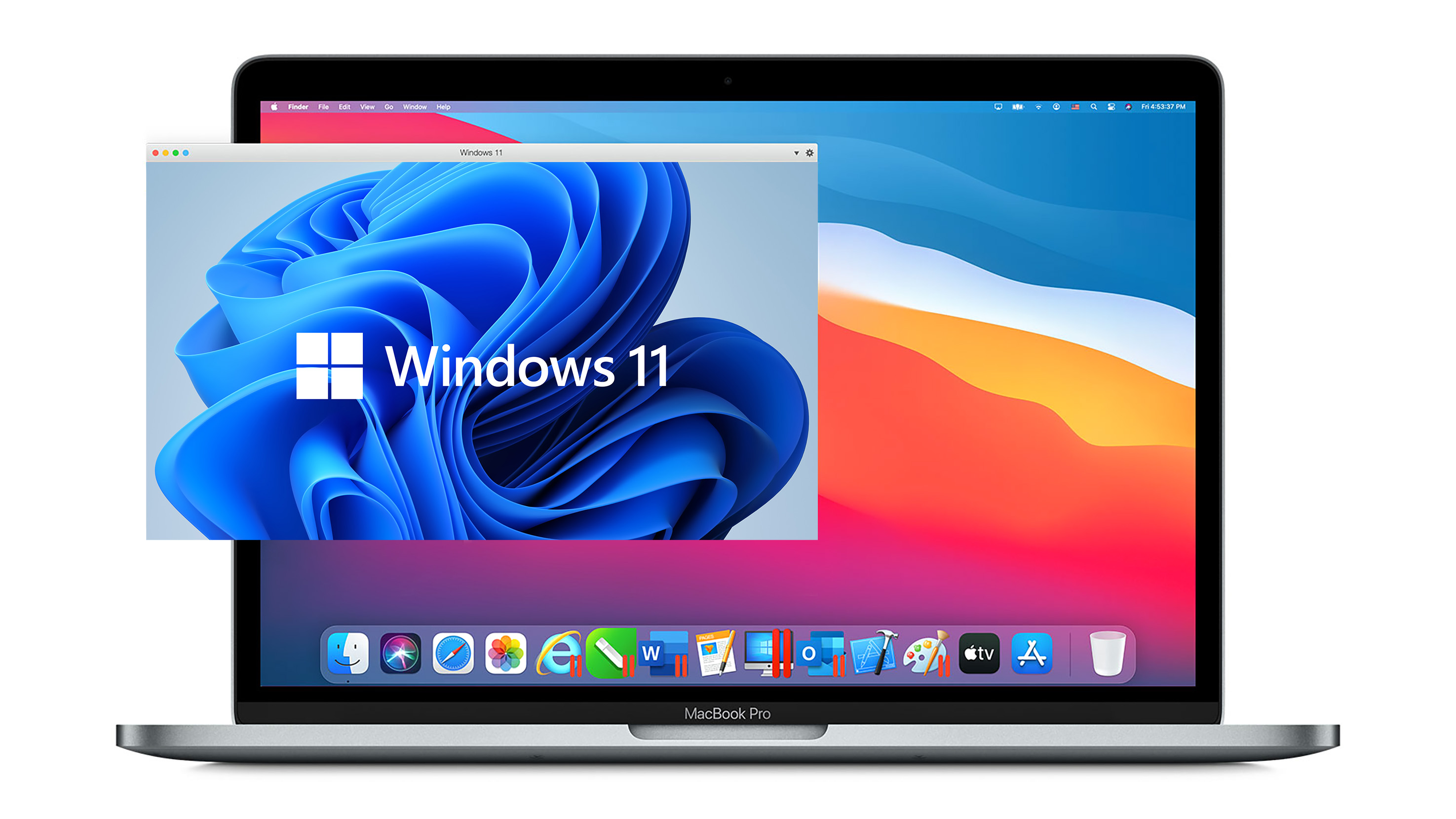 Microsoft Says ARM Windows Virtualization on Apple Silicon Macs 'Not a Supported Scenario'
