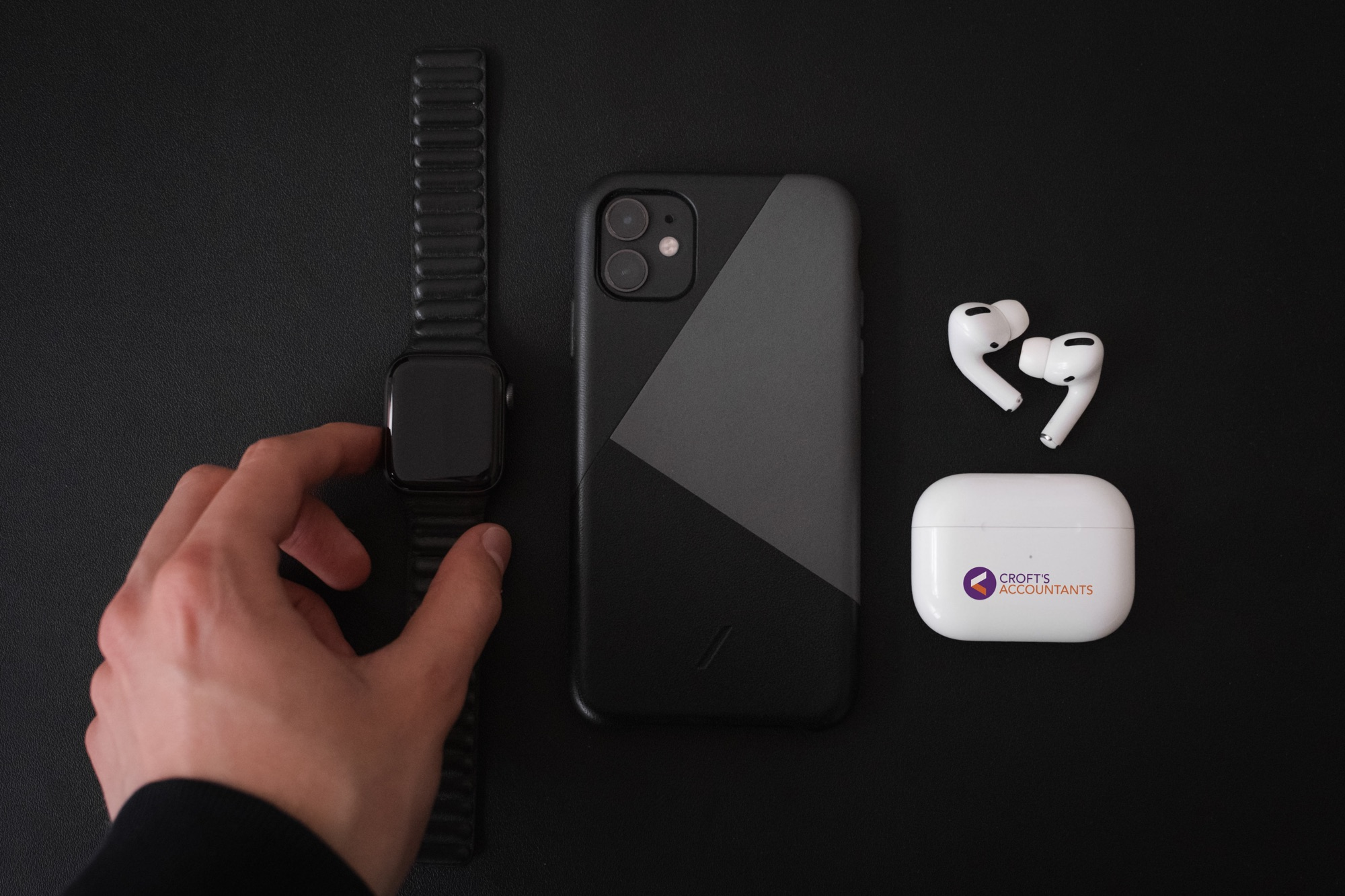 customized airpods pro electronic finishing solutions