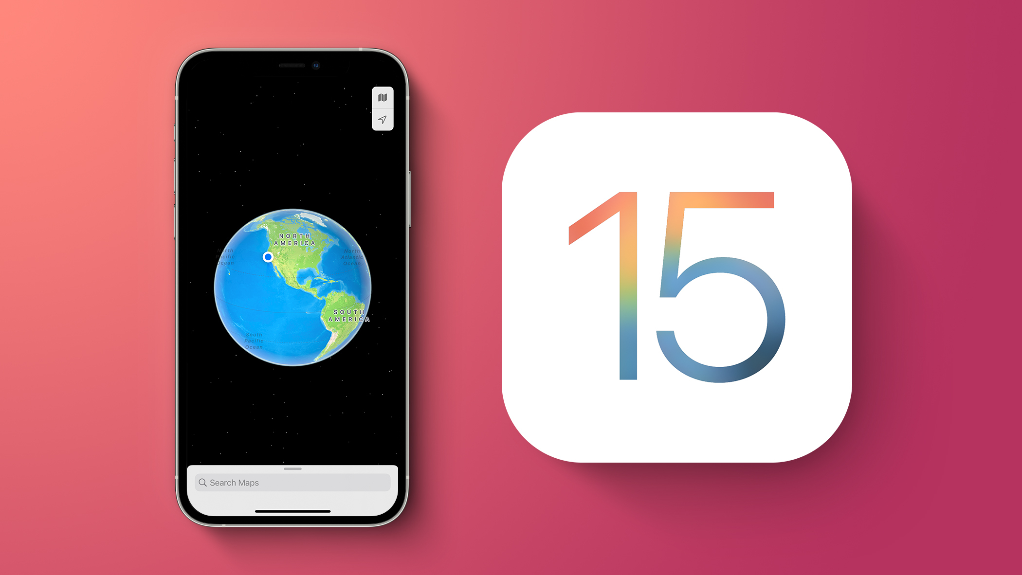 iOS 15 Maps Feature