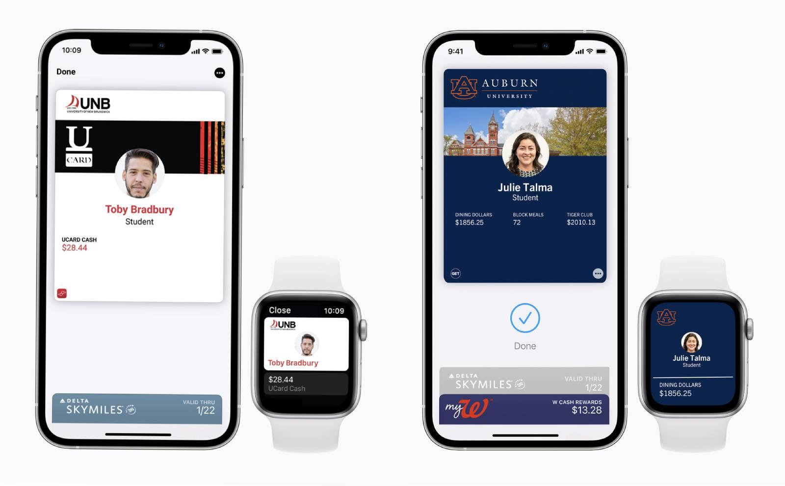 apple student ids wallet app