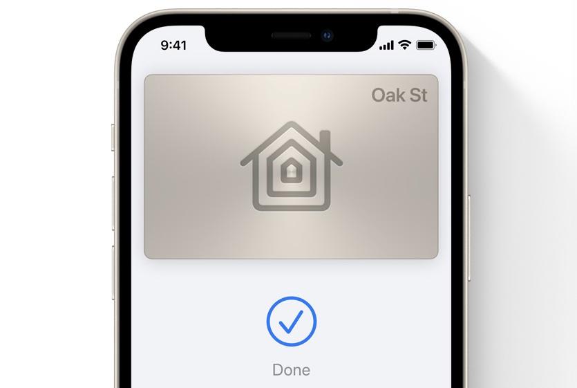 HomeKit keys