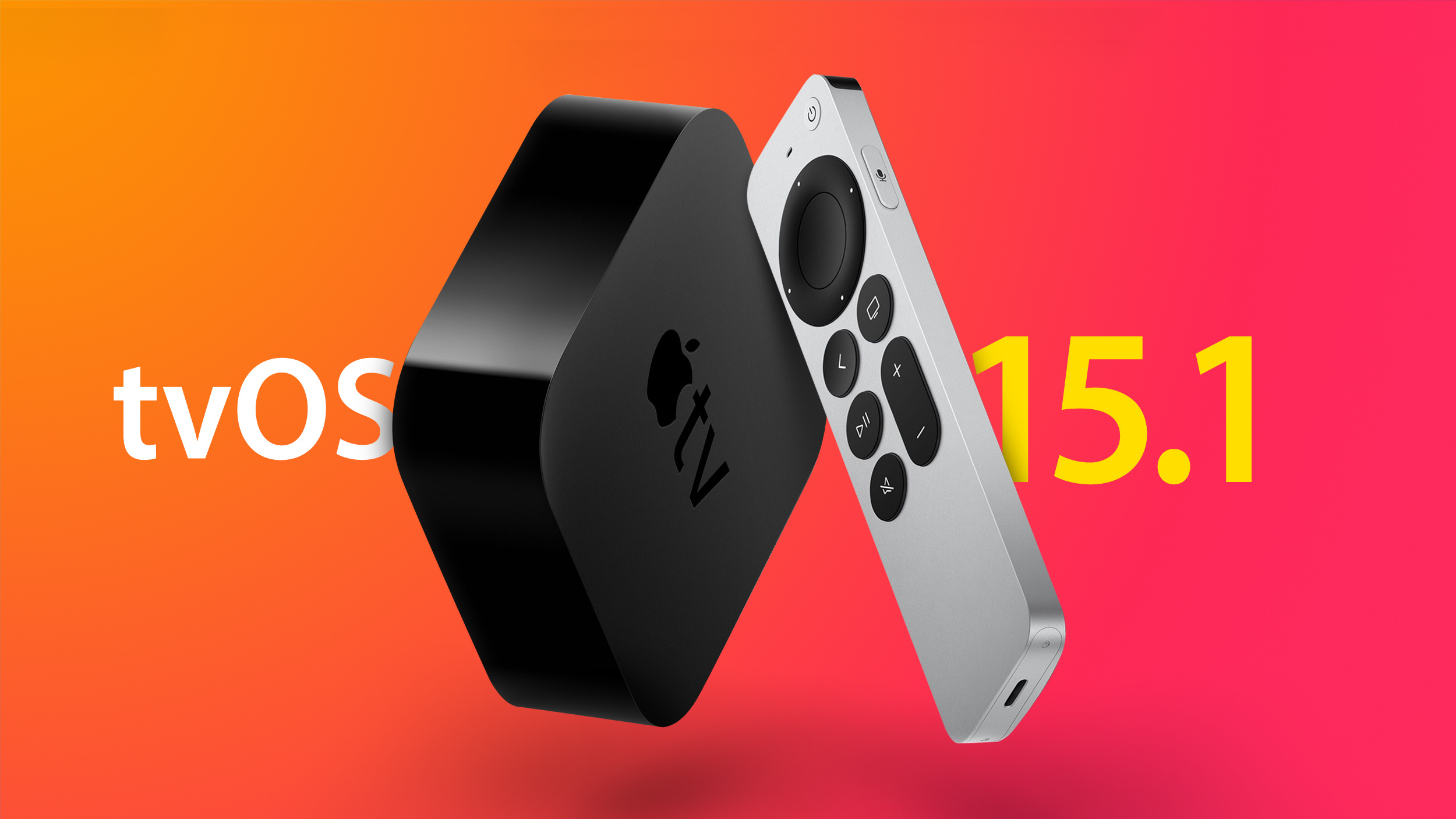 Apple Seeds Fourth Beta of tvOS 15.1 to Developers