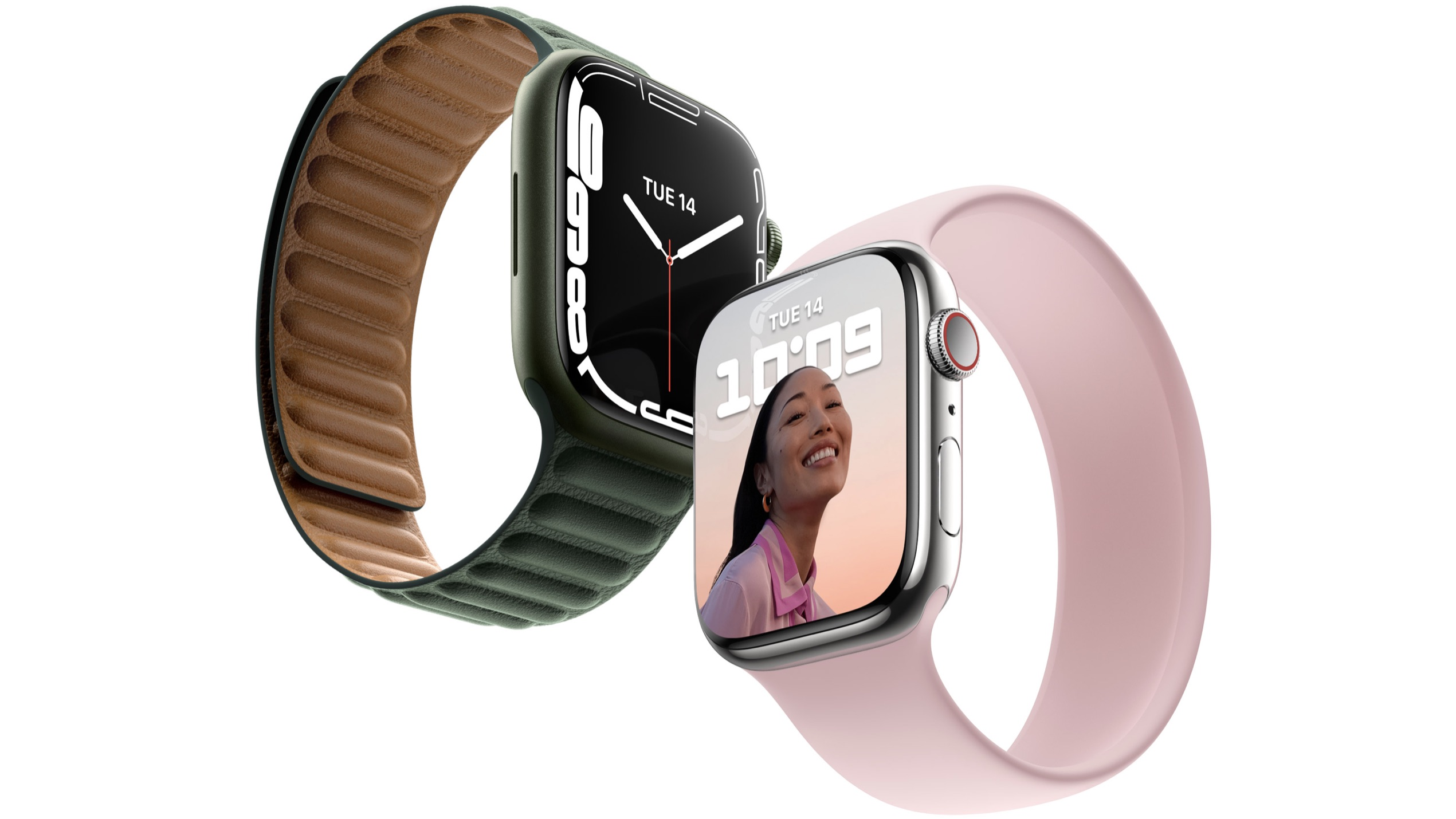 Apple Watch Series 7 to Come in 41mm and 45mm Case Sizes, Will Be Compatible With Older Bands