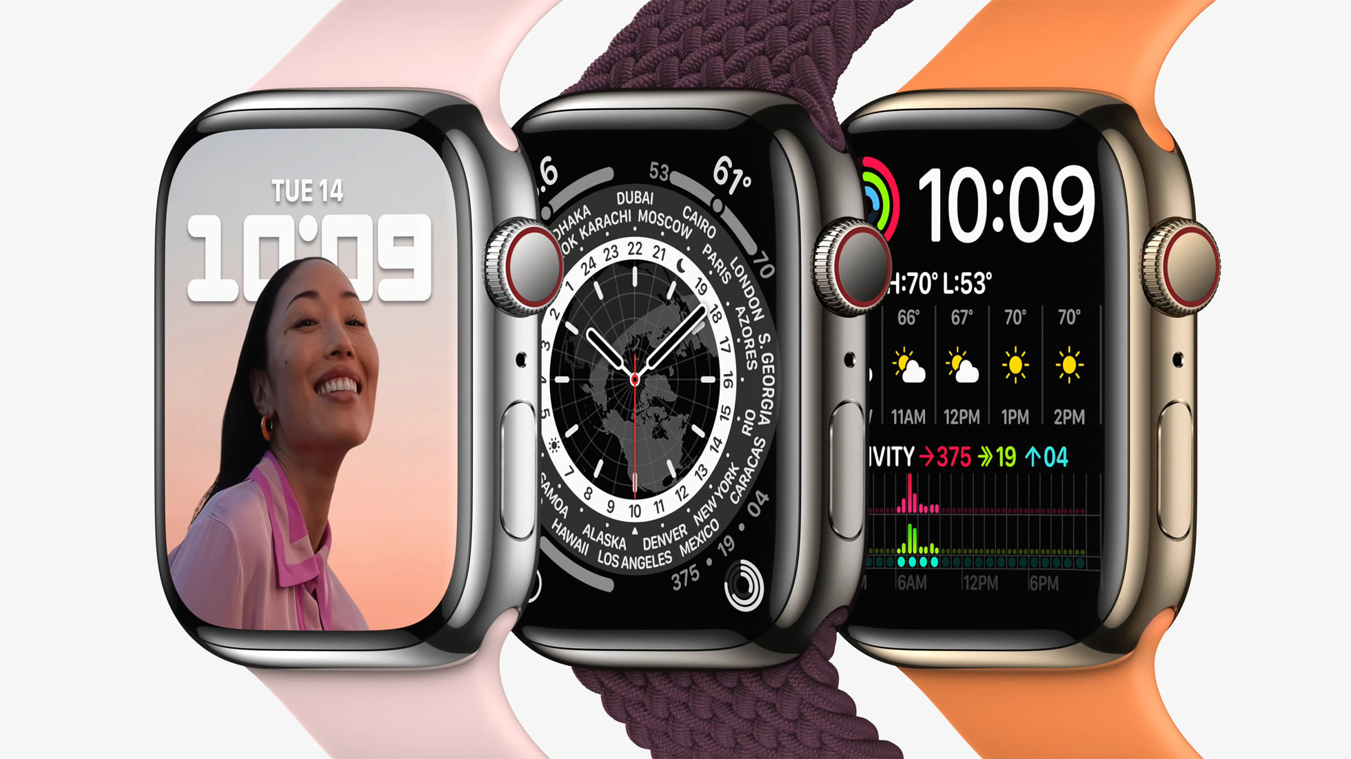 Apple Watch Series 7 Tidbits: S7 Chip, Storage Remains 32GB, USB-C Fast Charging Cable in the Box, and More