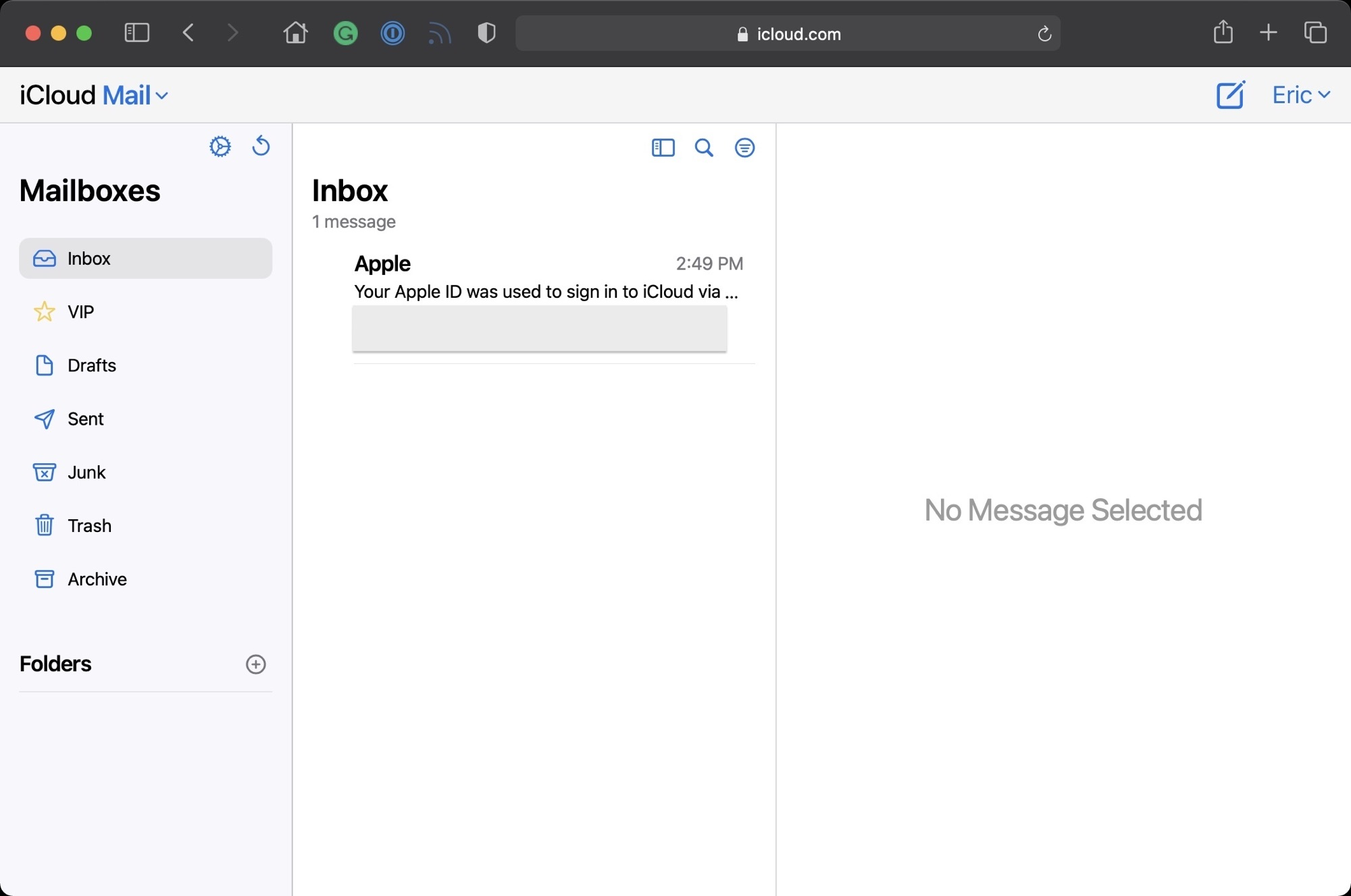 icloud mail redesign