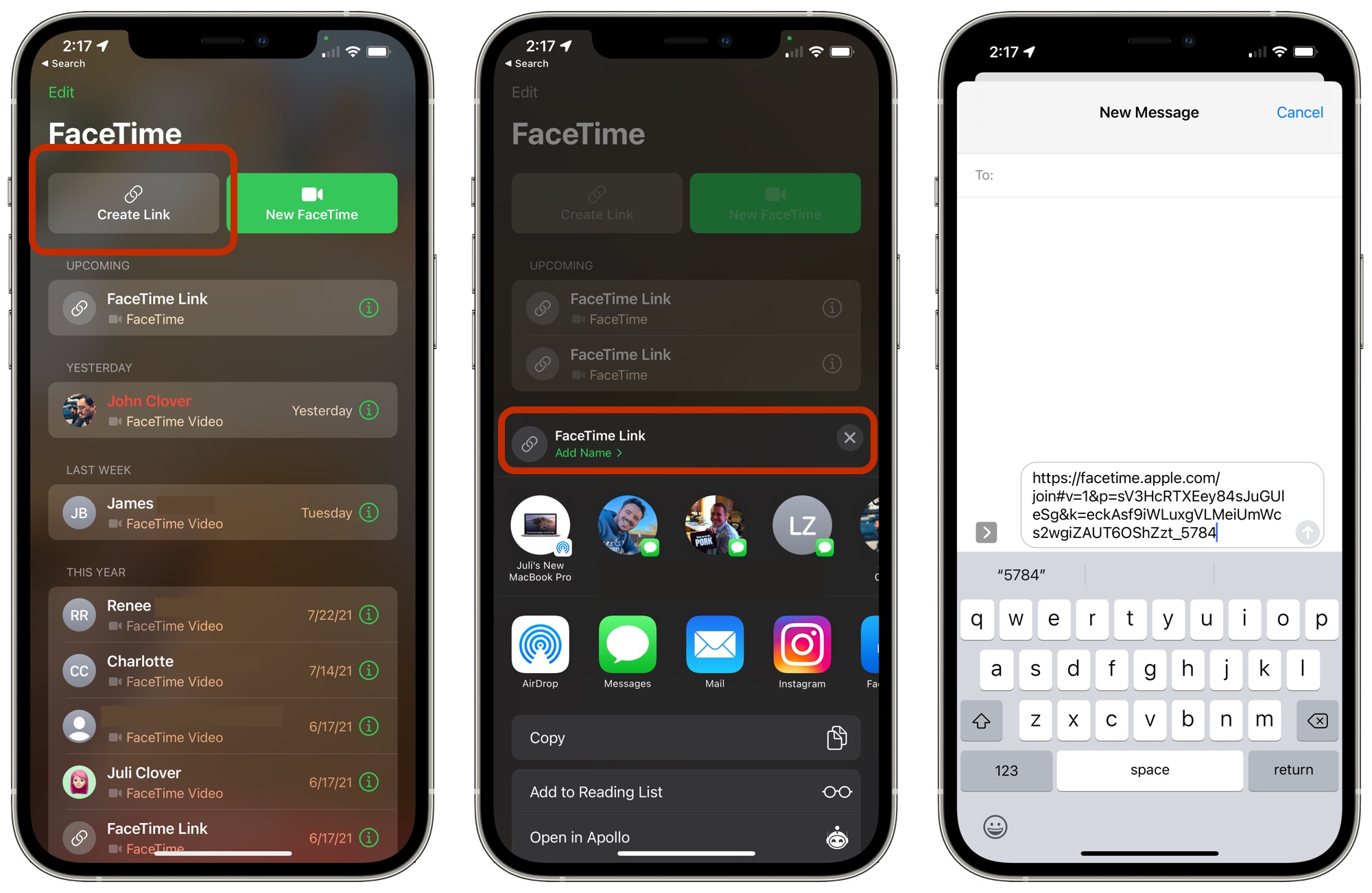 ios 15 facetime android pc