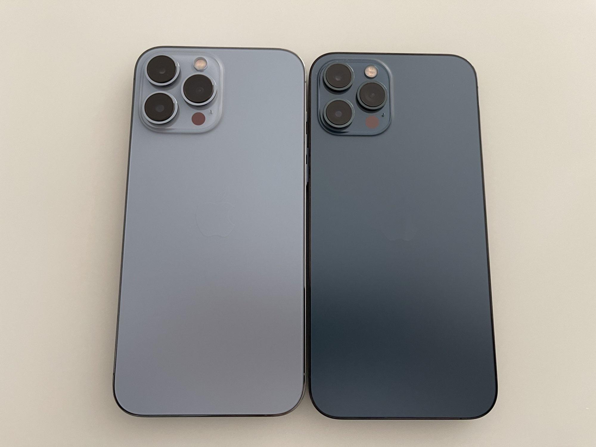 iphone 13 12 pro max color comparison boardiesboi