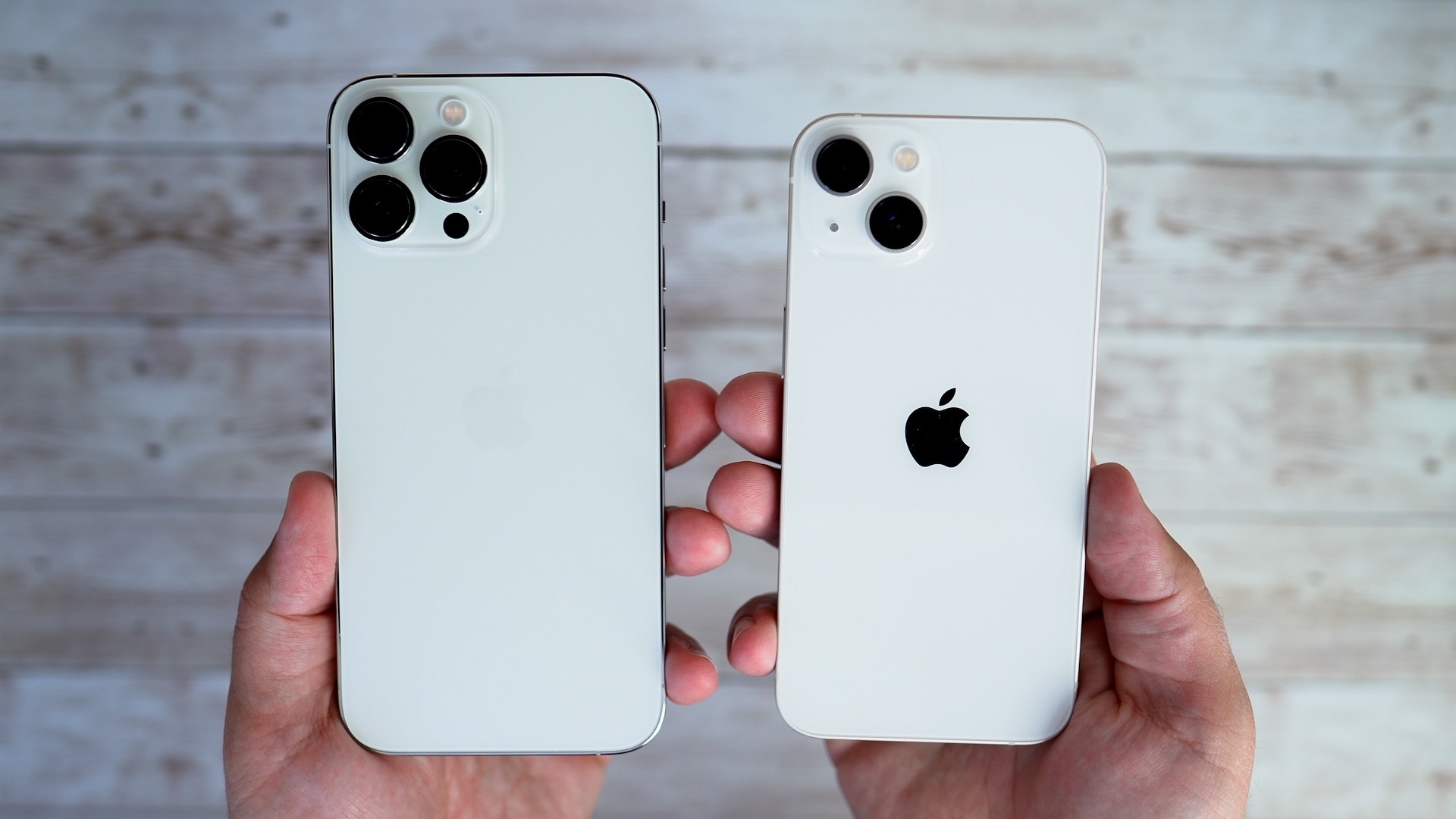 iphone 13 and iphone 13 pro max