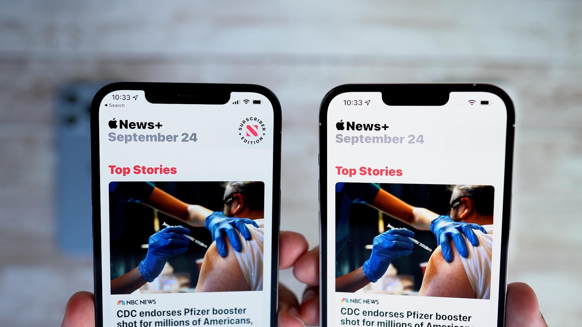 iphone 13 iphone 12 notch comparison