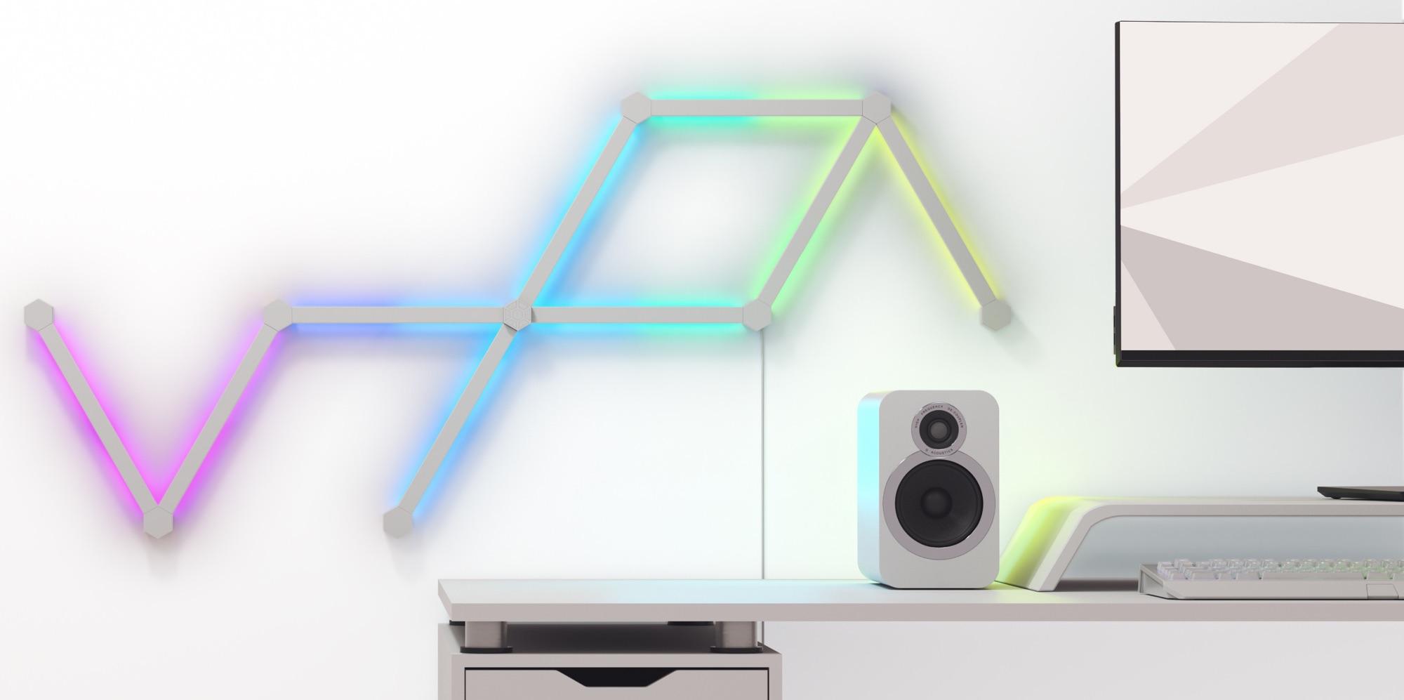 Nanoleaf Launches HomeKit-Enabled 'Lines' LED Light Bars