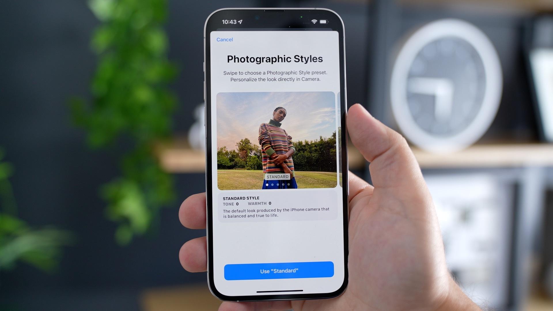 photographic styles iphone 13