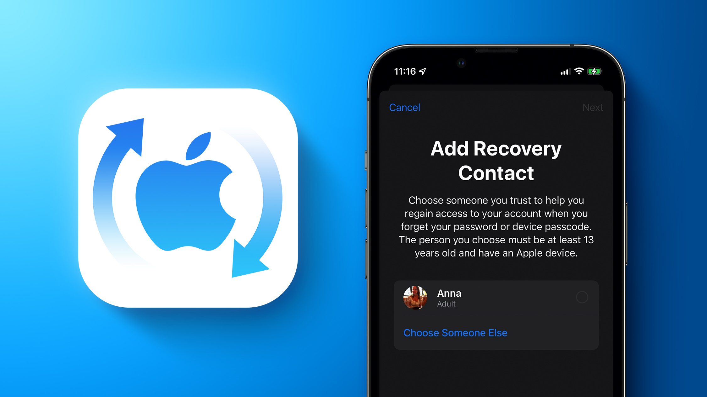 iOS 15: How to Set a Recovery Contact for Your Apple ID Account