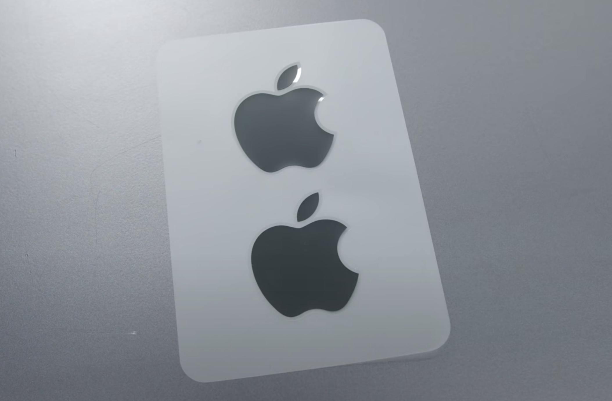 black apple stickers