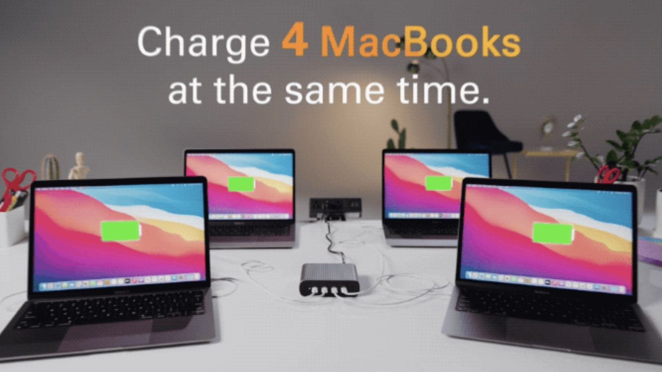hyper battery pack four macbooks